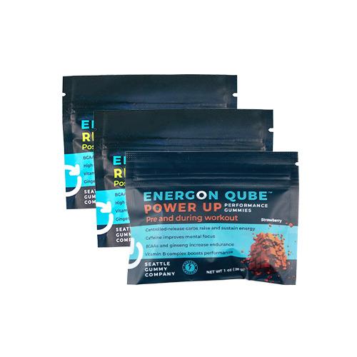 Energon Qube Sports Gummies Sample (3-Pack)   Trada Marketplace