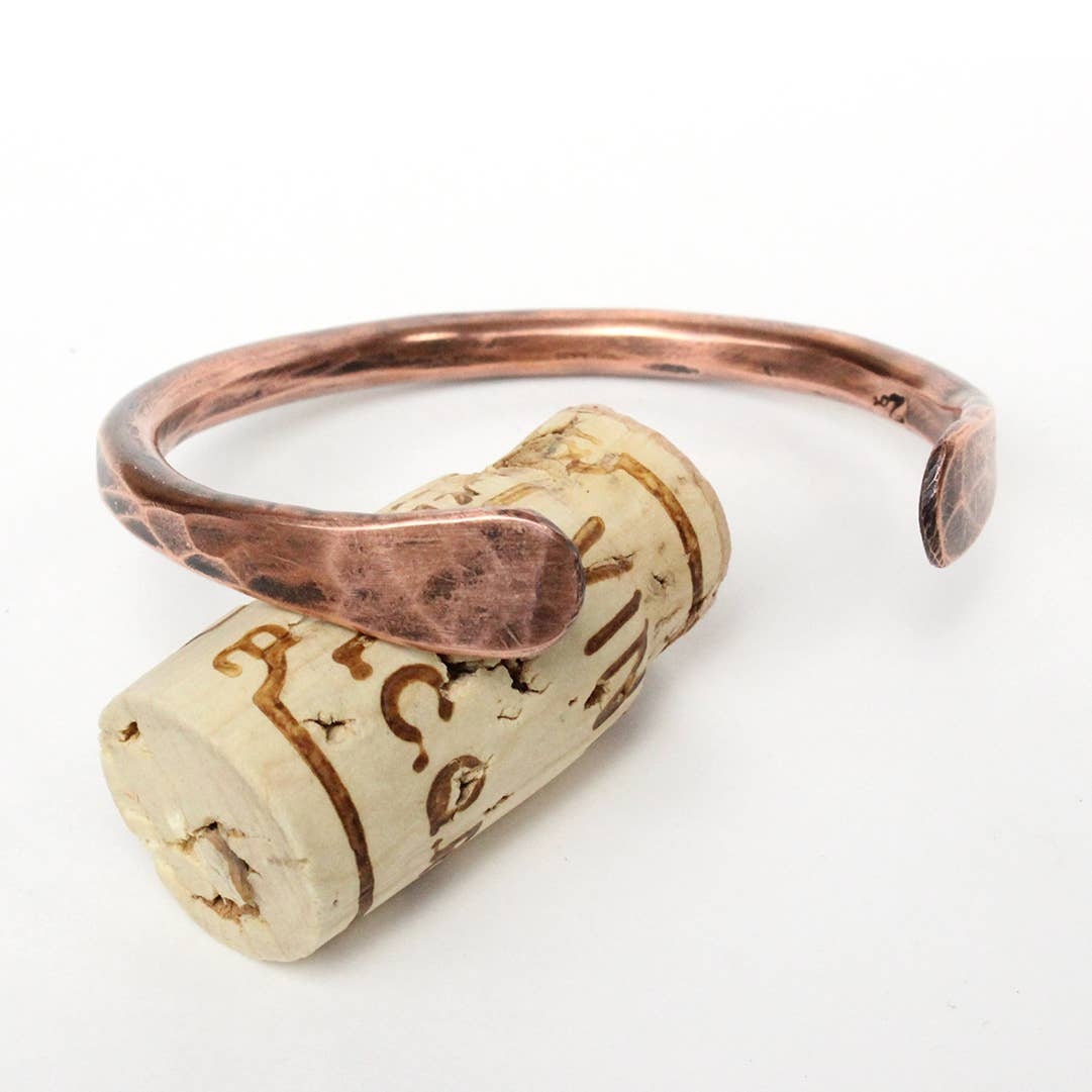 Paddle End Copper Cuff (thick and heavy) | Trada Marketplace