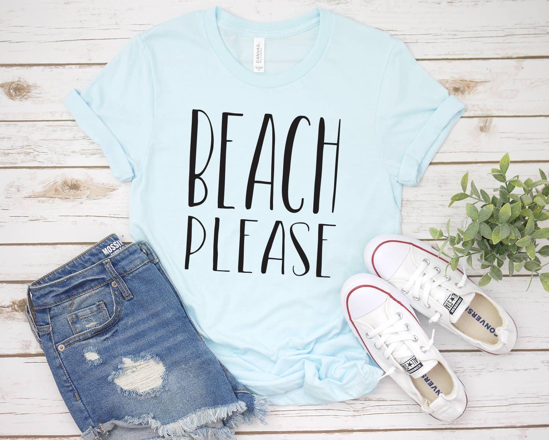 Beach Please Tee | Trada Marketplace