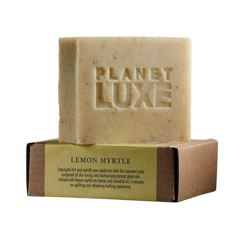 Planet Luxe Lemon Myrtle Artisan Crafted Soap 130g | Trada Marketplace