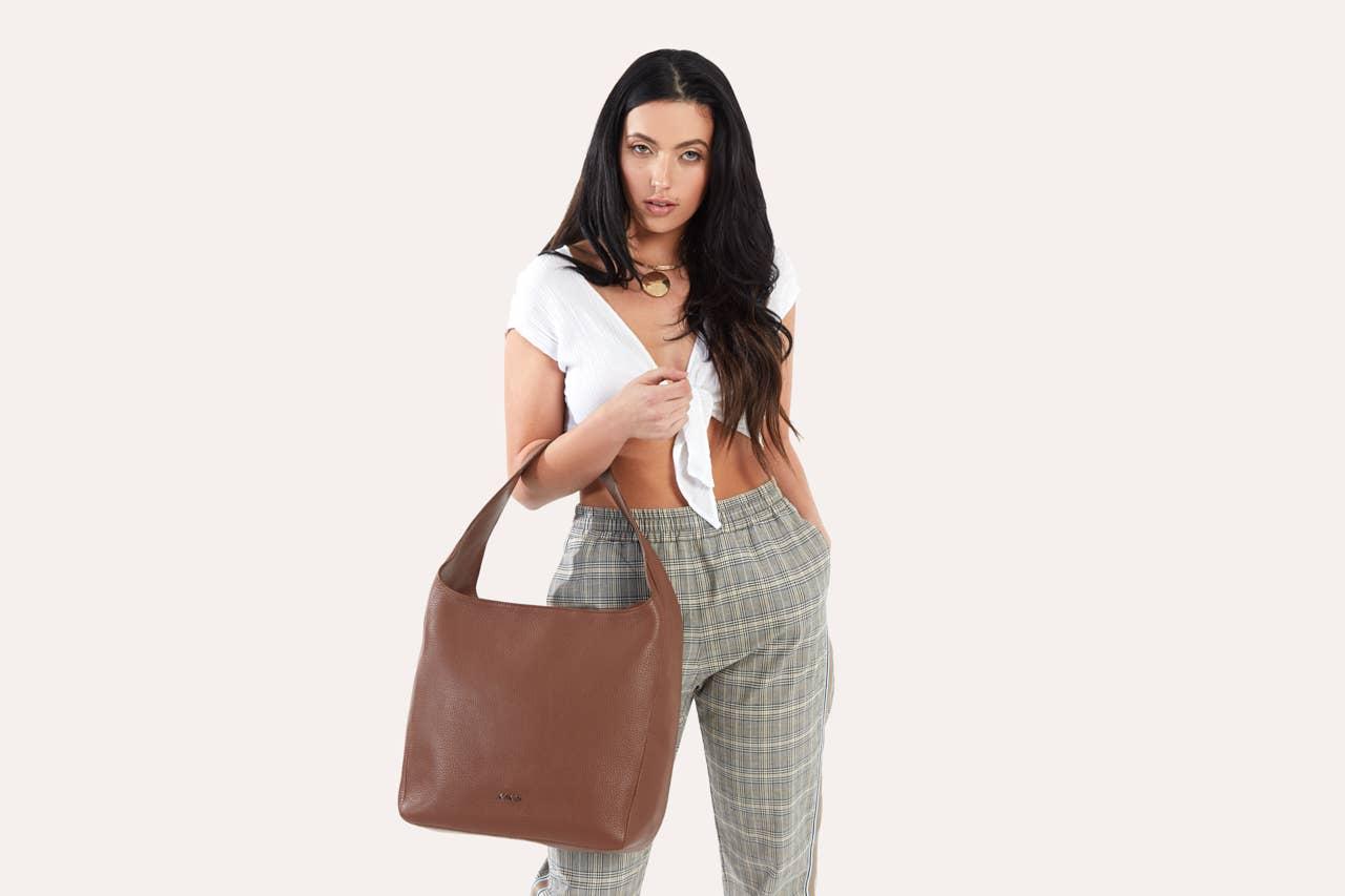 Brown Hobo Bag   Trada Marketplace