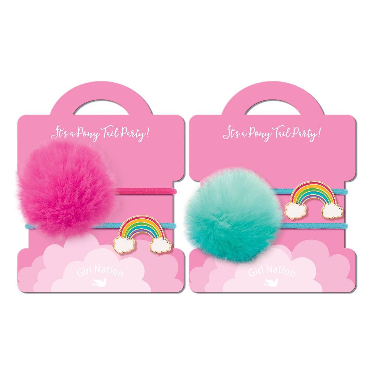 Pony Tail Whimsy- Cloud Luvs Rainbow | Trada Marketplace
