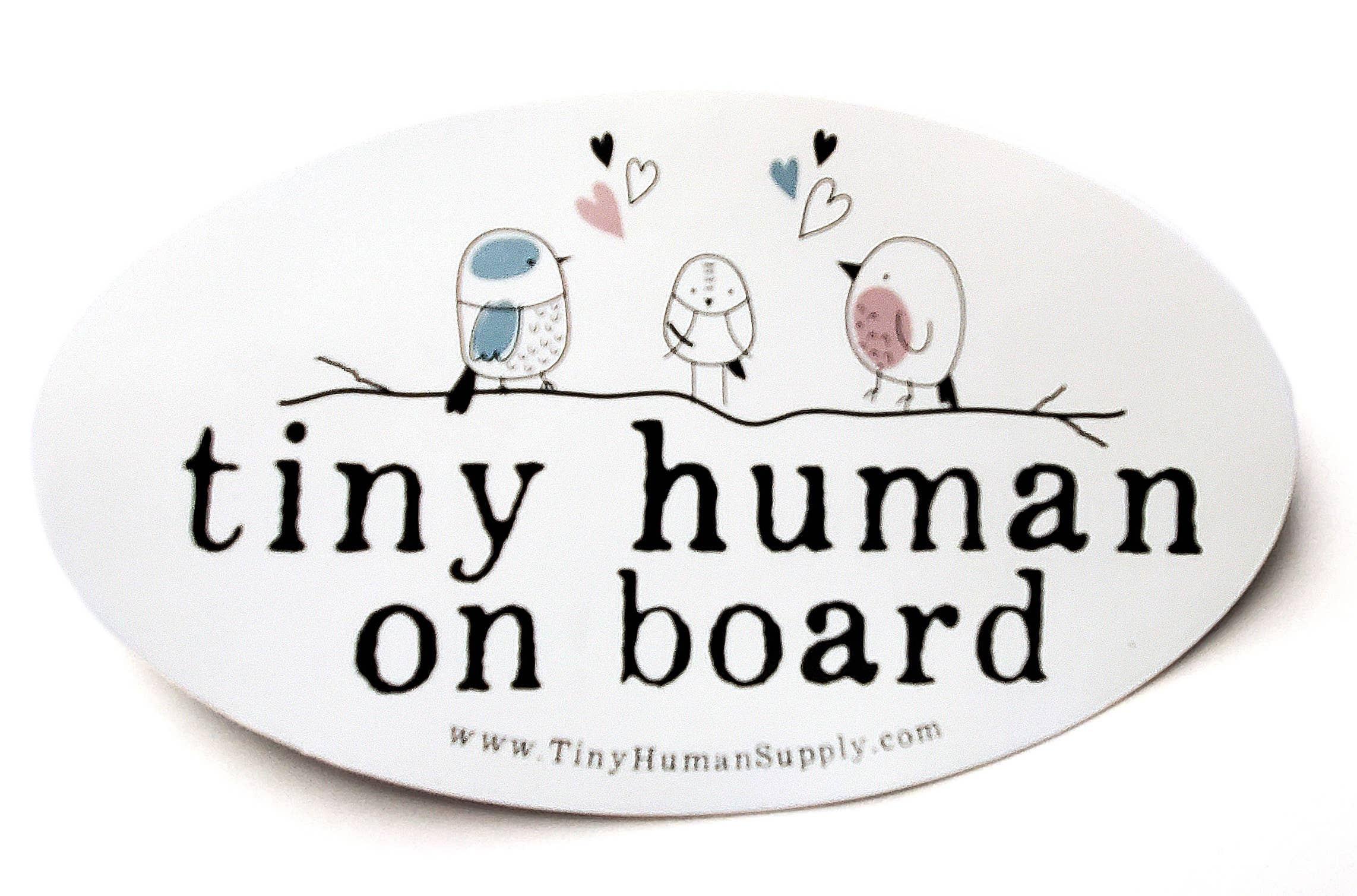 Tiny Human Bumper Sticker   Trada Marketplace