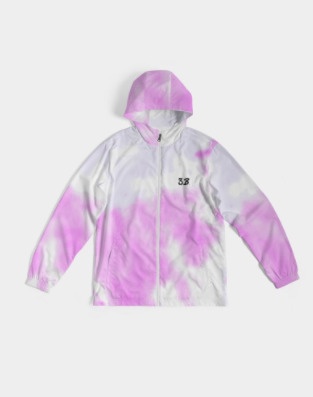 Pink Mist Men's Windbreaker | Trada Marketplace