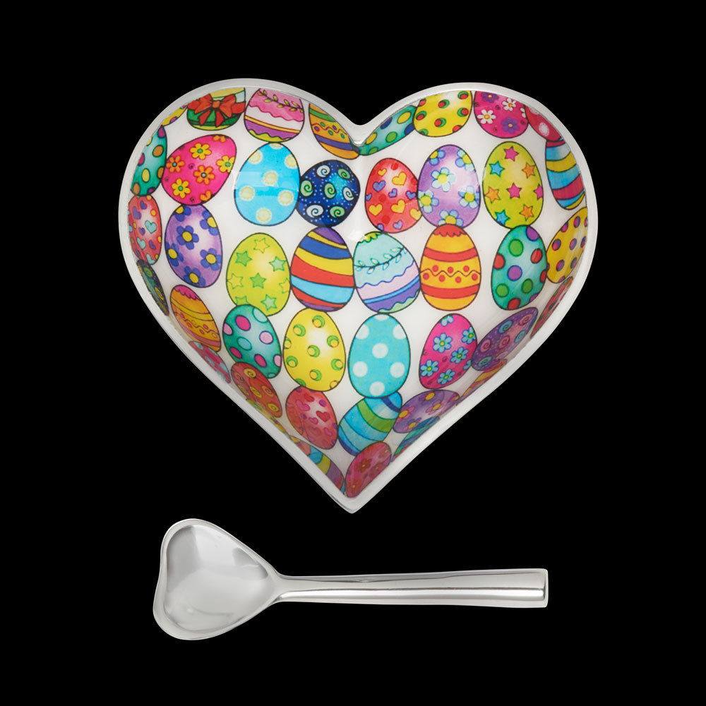Happy Easter Heart with Heart Spoon   Trada Marketplace