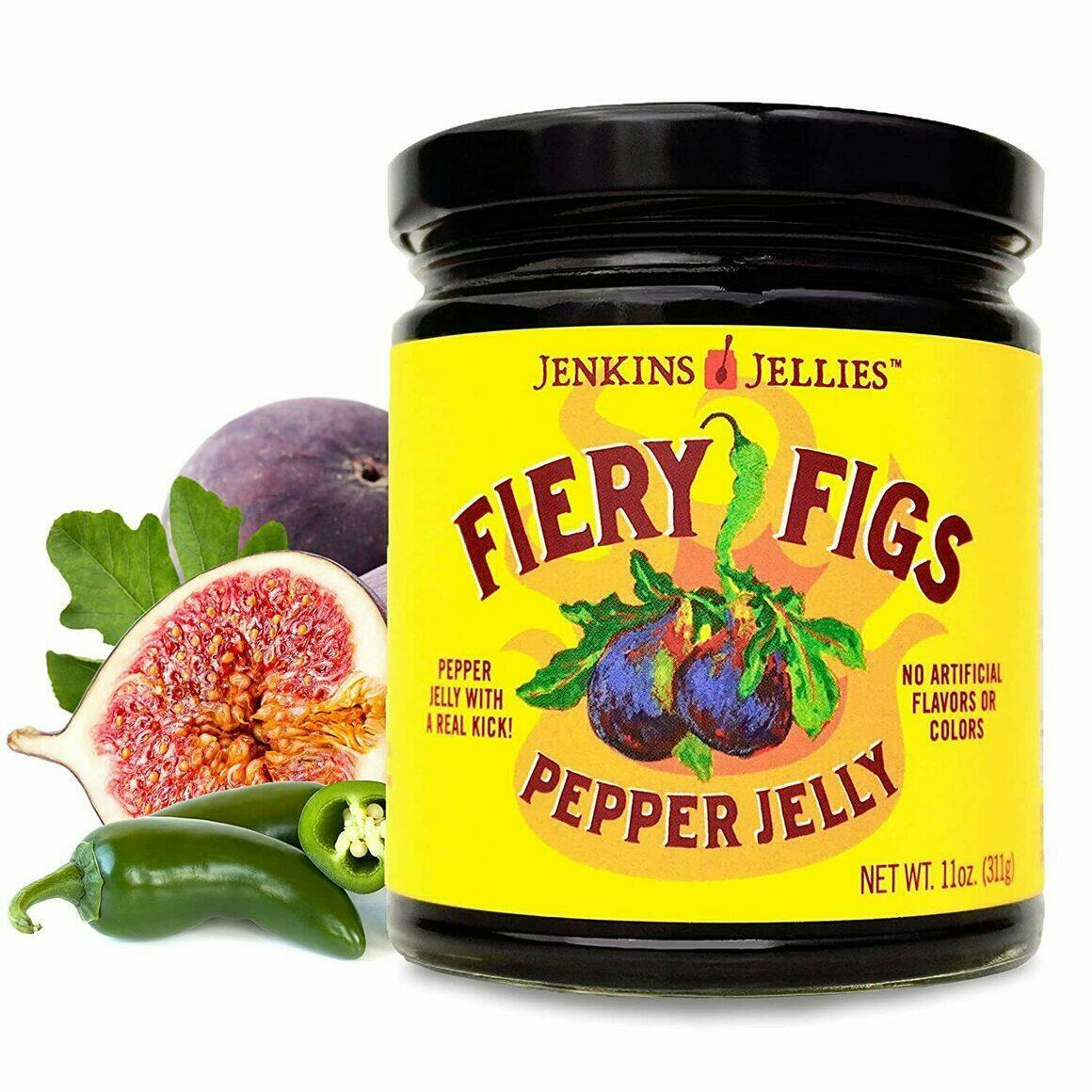 11 oz Fiery Figs Pepper Jelly   Trada Marketplace