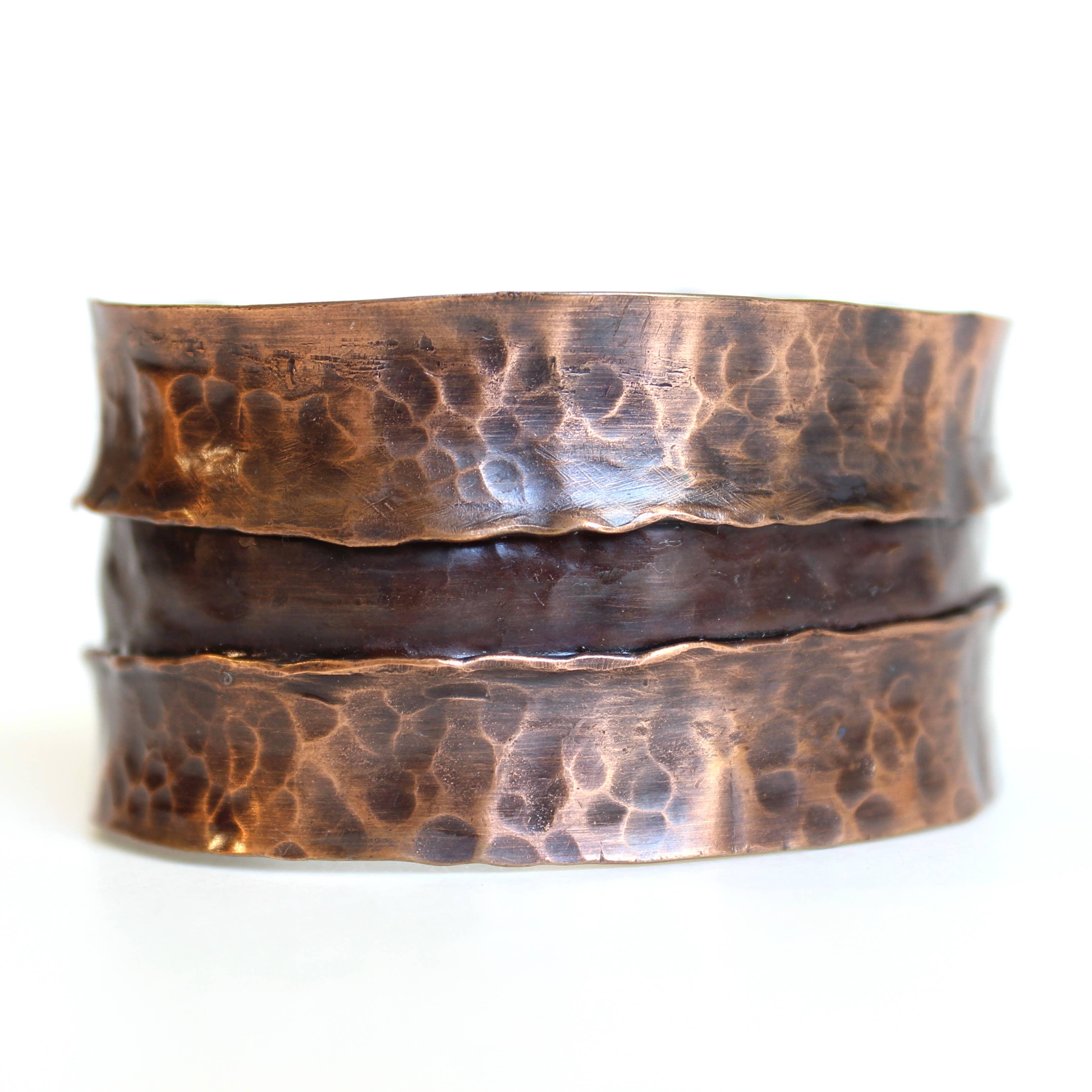 Rift Copper Cuff | Trada Marketplace