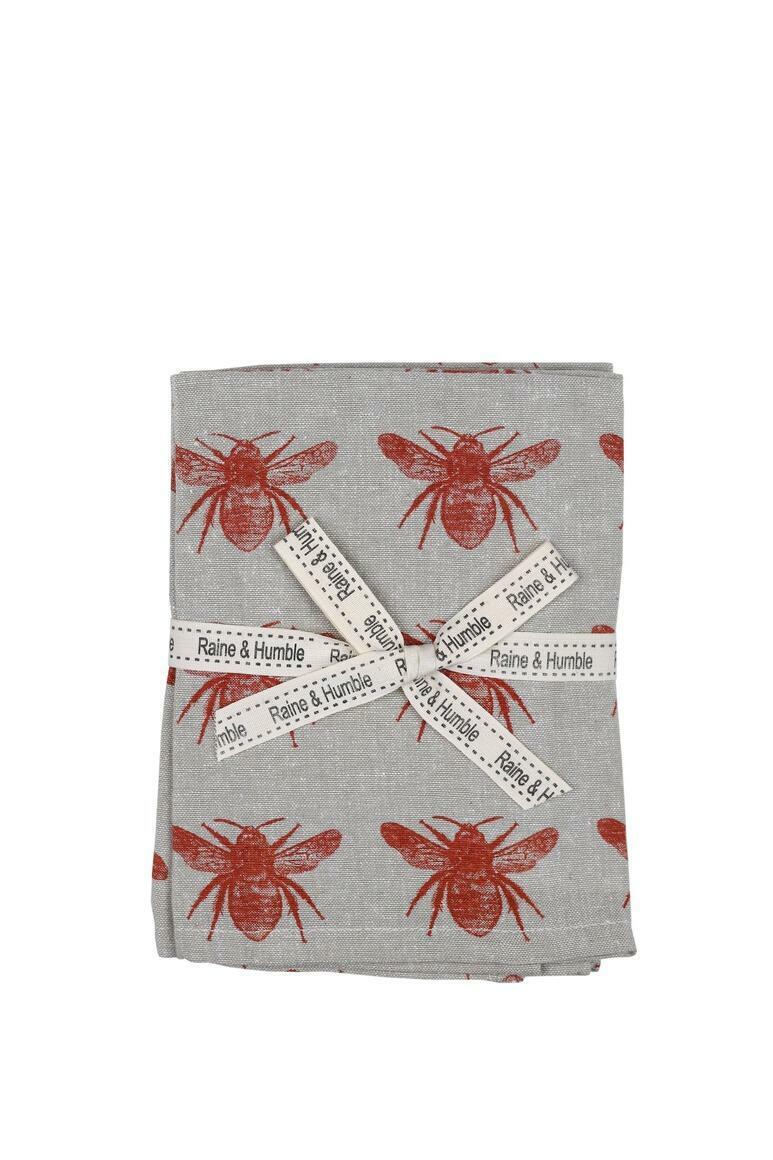 Abby Bee Napkin Terra Cotta | Trada Marketplace