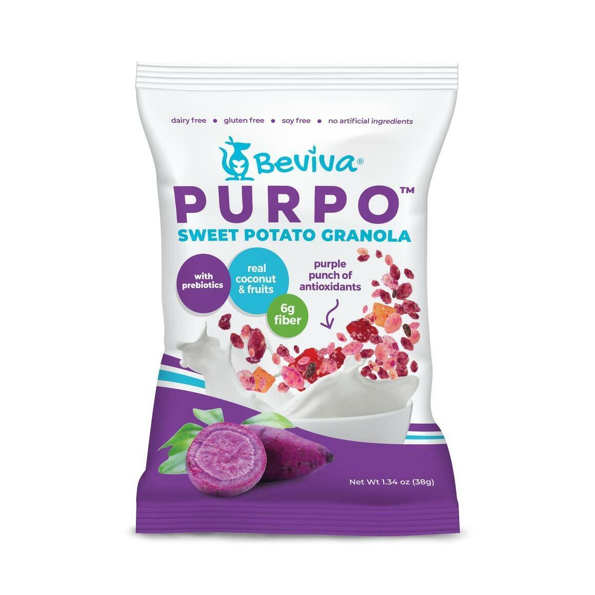 Purpo Sweet Potato Granola Pouch   Trada Marketplace