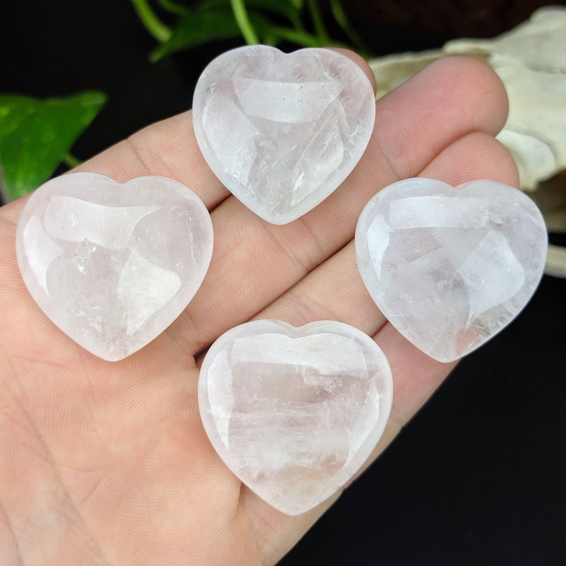 Quartz Crystal Pocket Hearts   Trada Marketplace