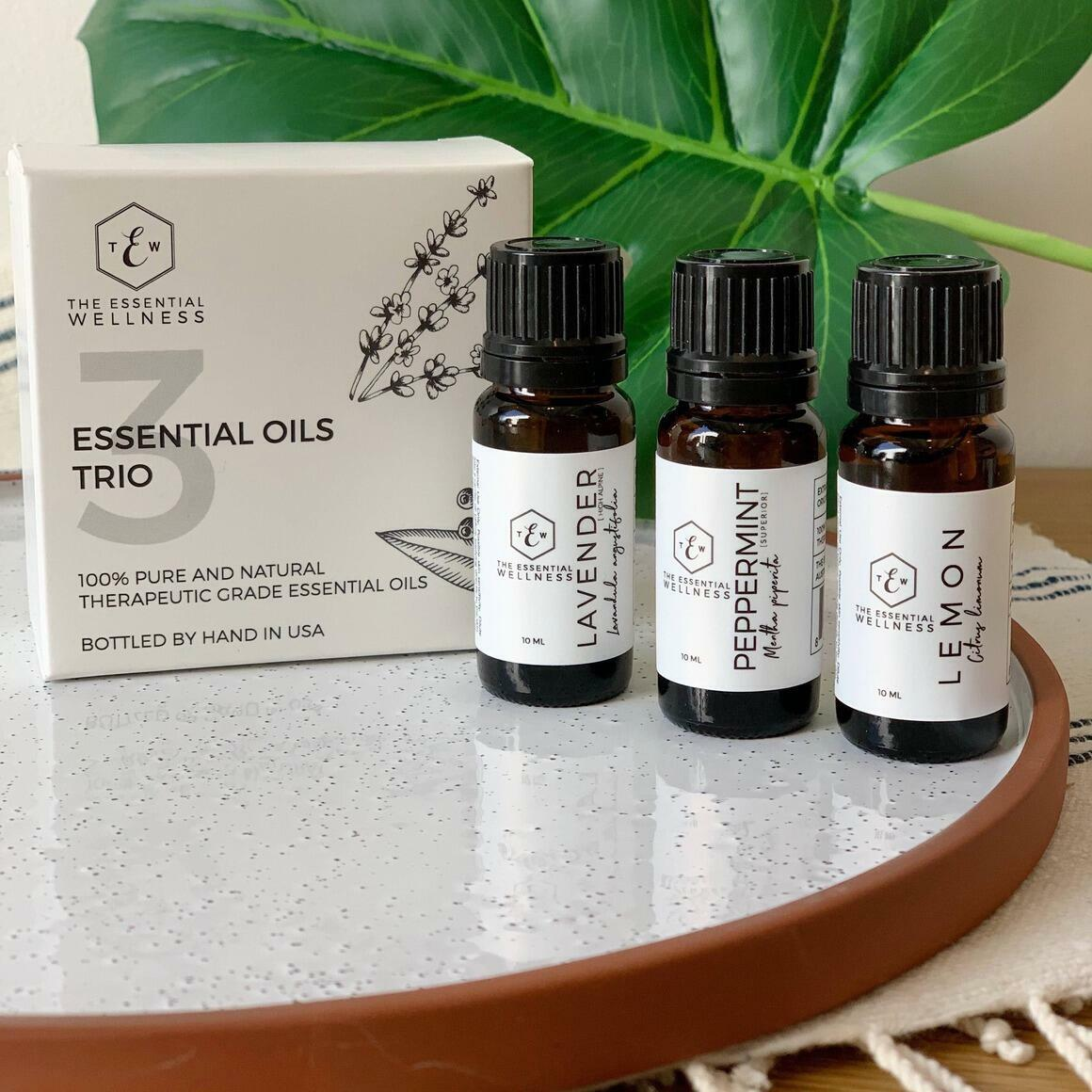 Essential Oil Trio   Trada Marketplace