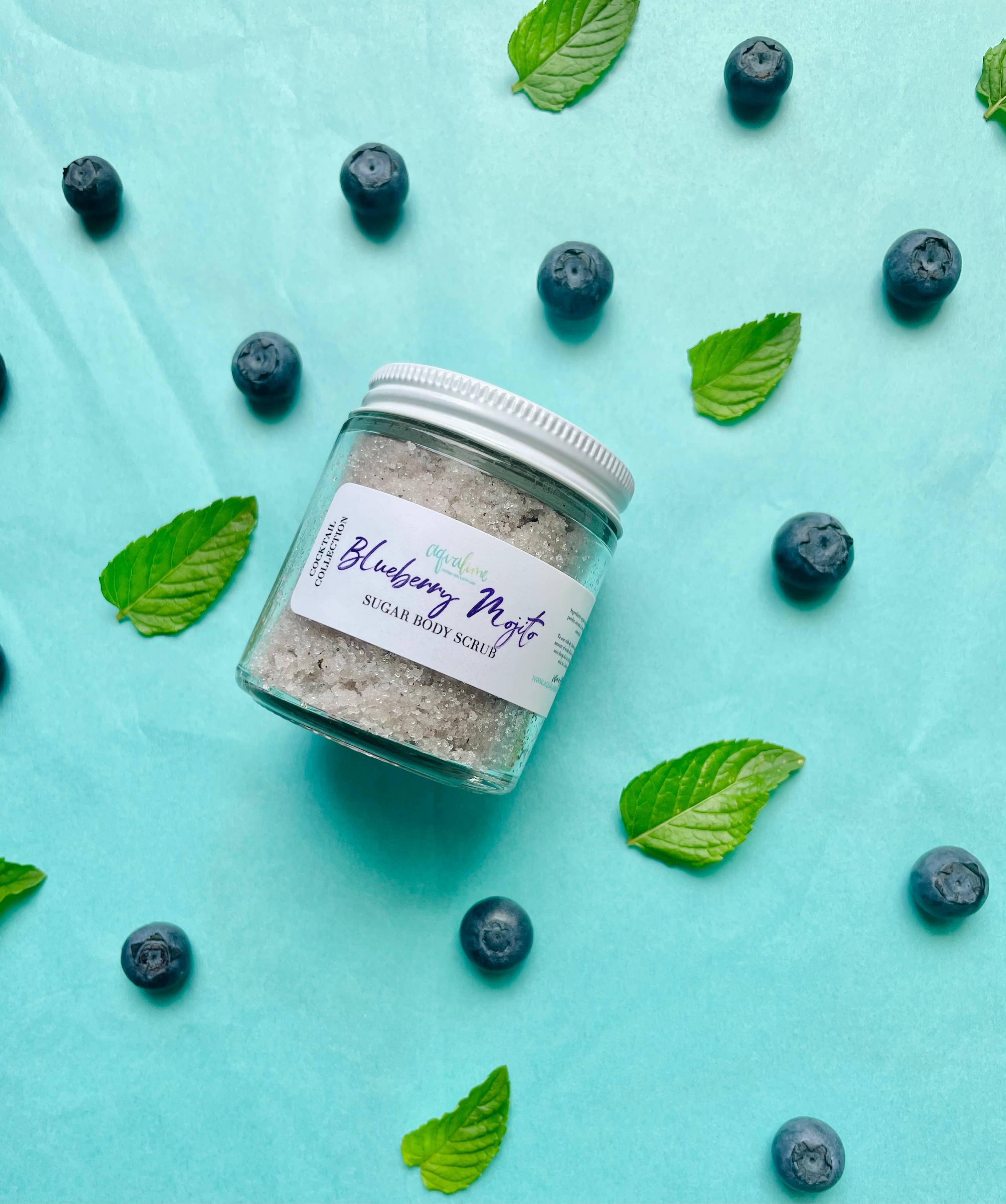 Blueberry Mojito Sugar Body Scrub - Cocktail Collection   Trada Marketplace