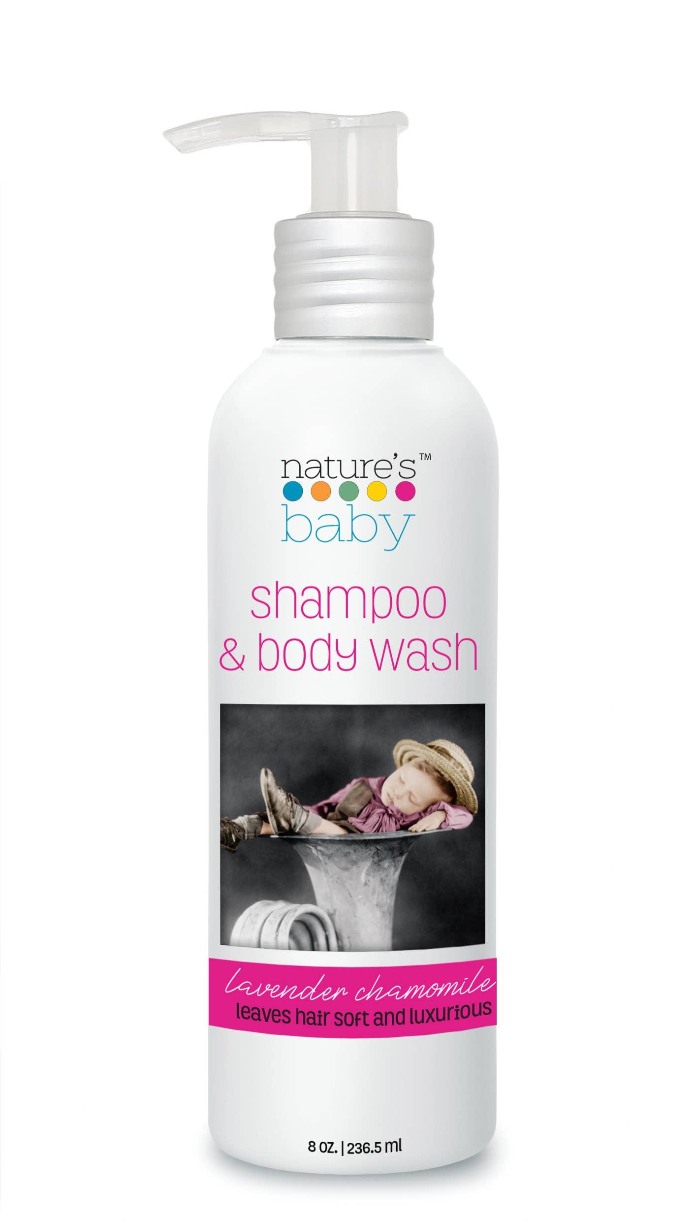 Shampoo & Body Wash - 8-oz Lavender Chamomile | Trada Marketplace