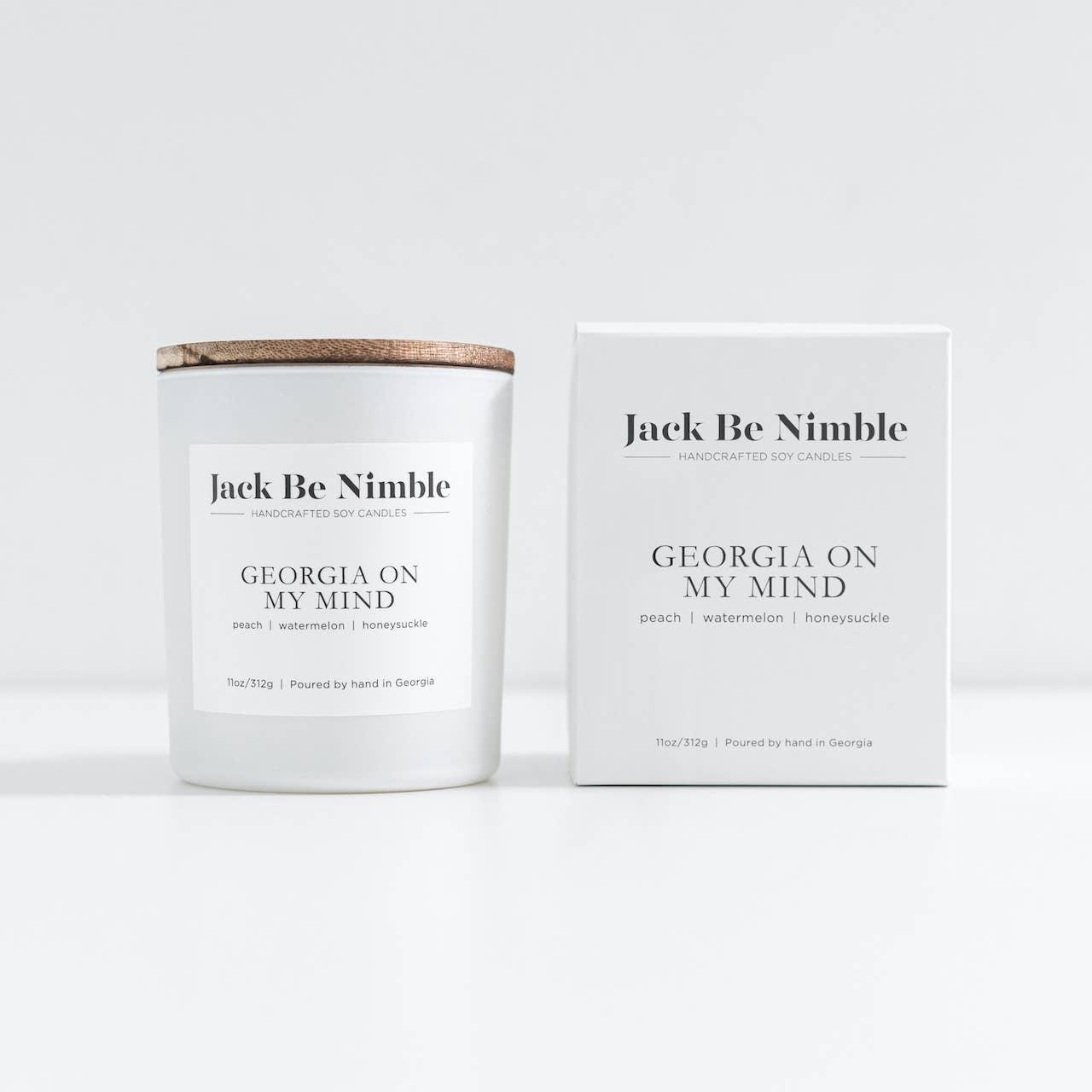 11oz Georgia On My Mind Soy Candle | Trada Marketplace