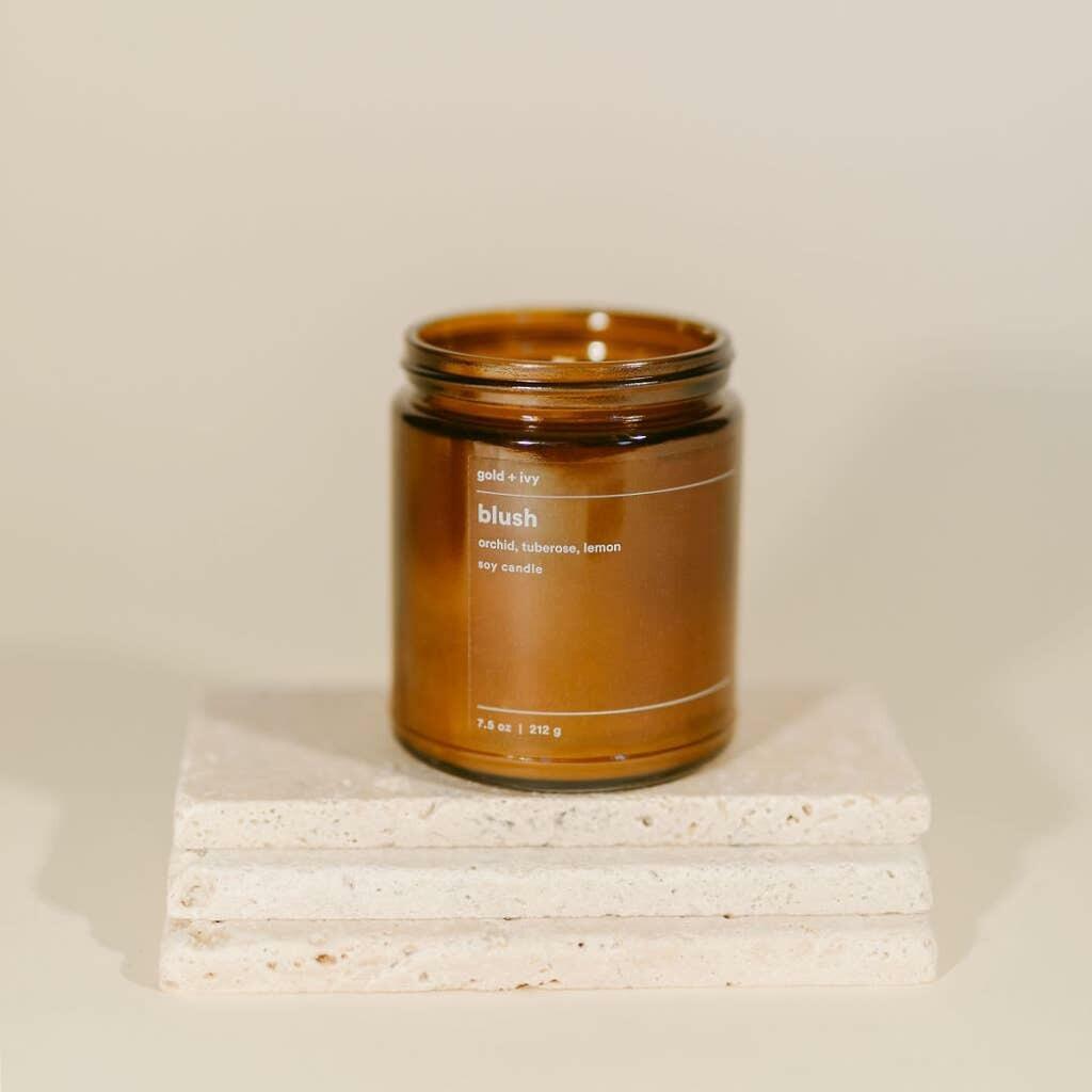 blush 7.5 oz. soy candle | Trada Marketplace