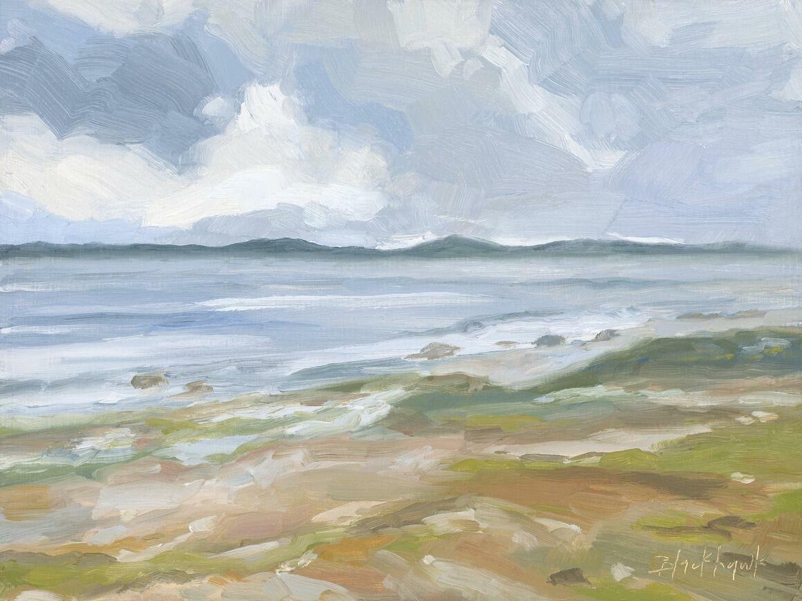 Across the Sea Horizontal Canvas Print   Trada Marketplace