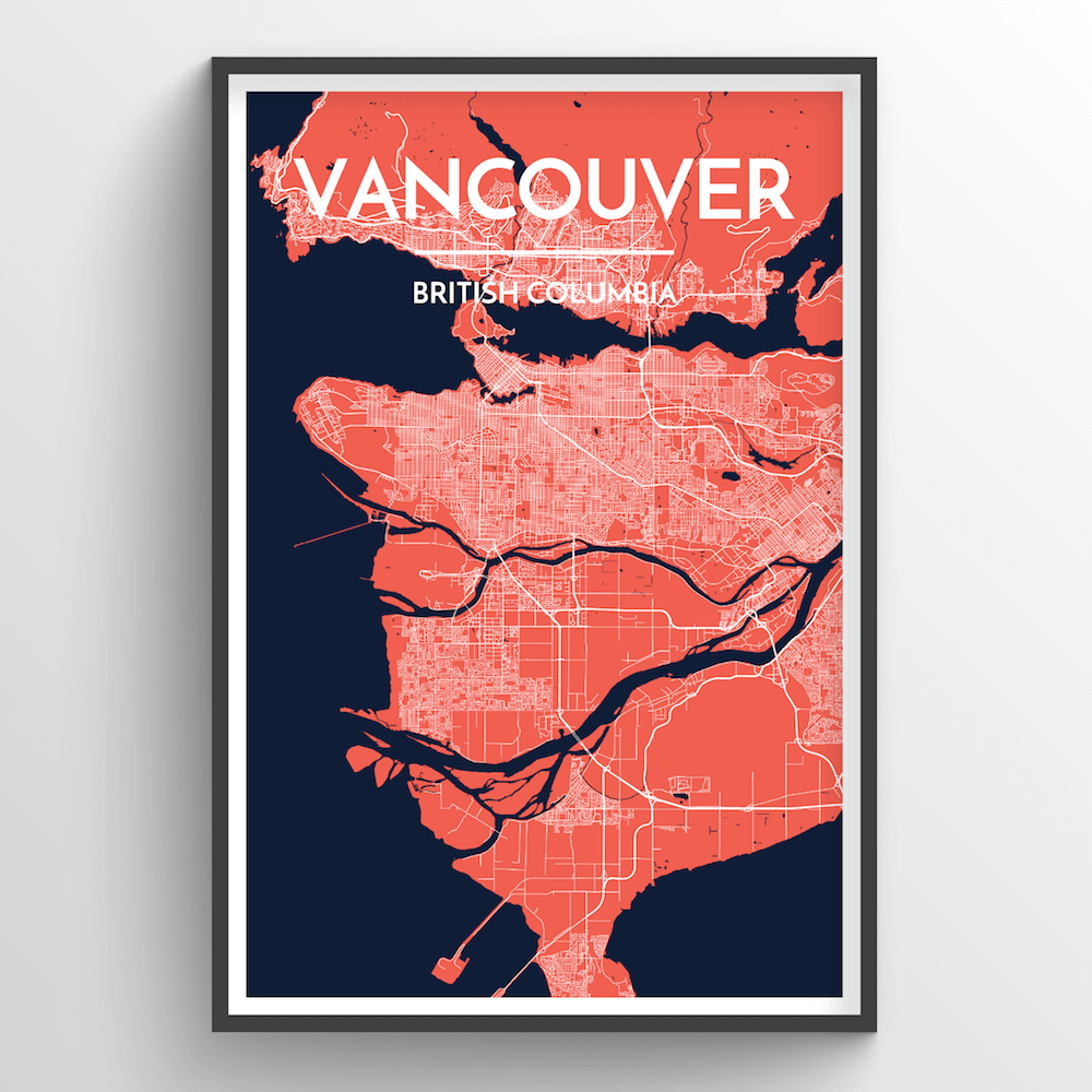 Vancouver City Map | Trada Marketplace