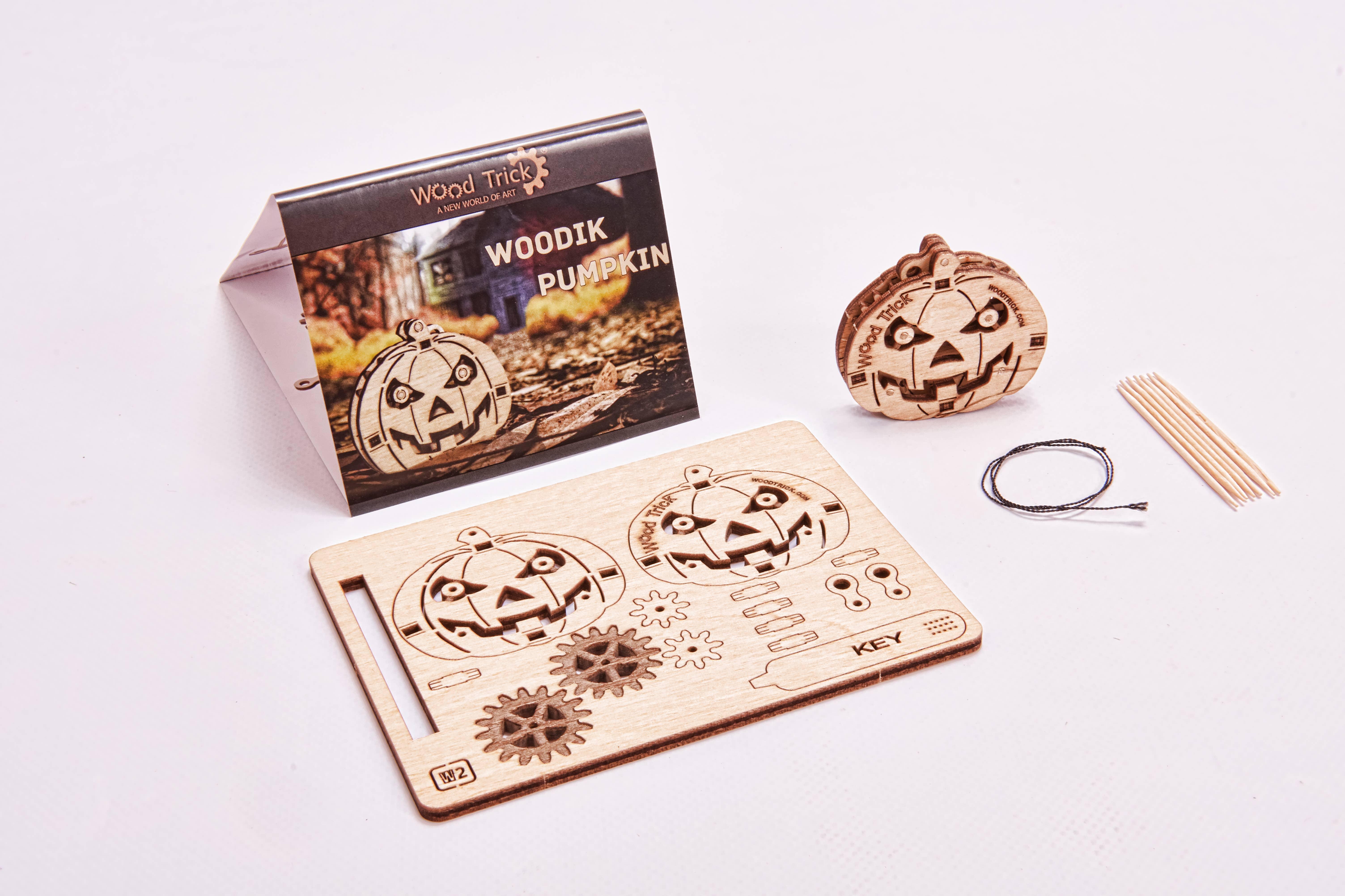 Pumpkin Woodik Puzzle | Trada Marketplace
