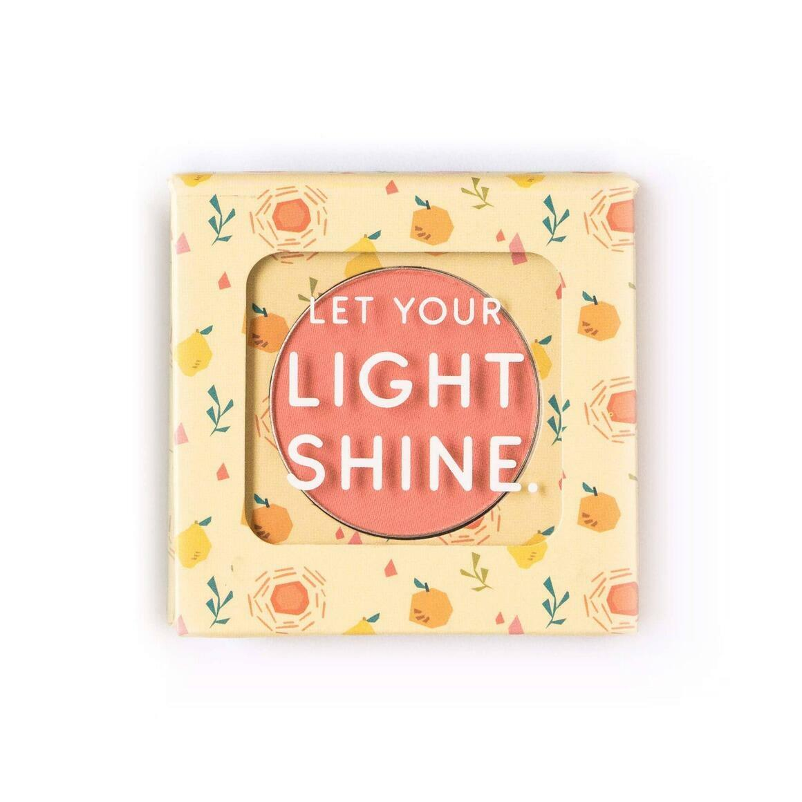 The Motto Blush - Let Your Light Shine   Trada Marketplace