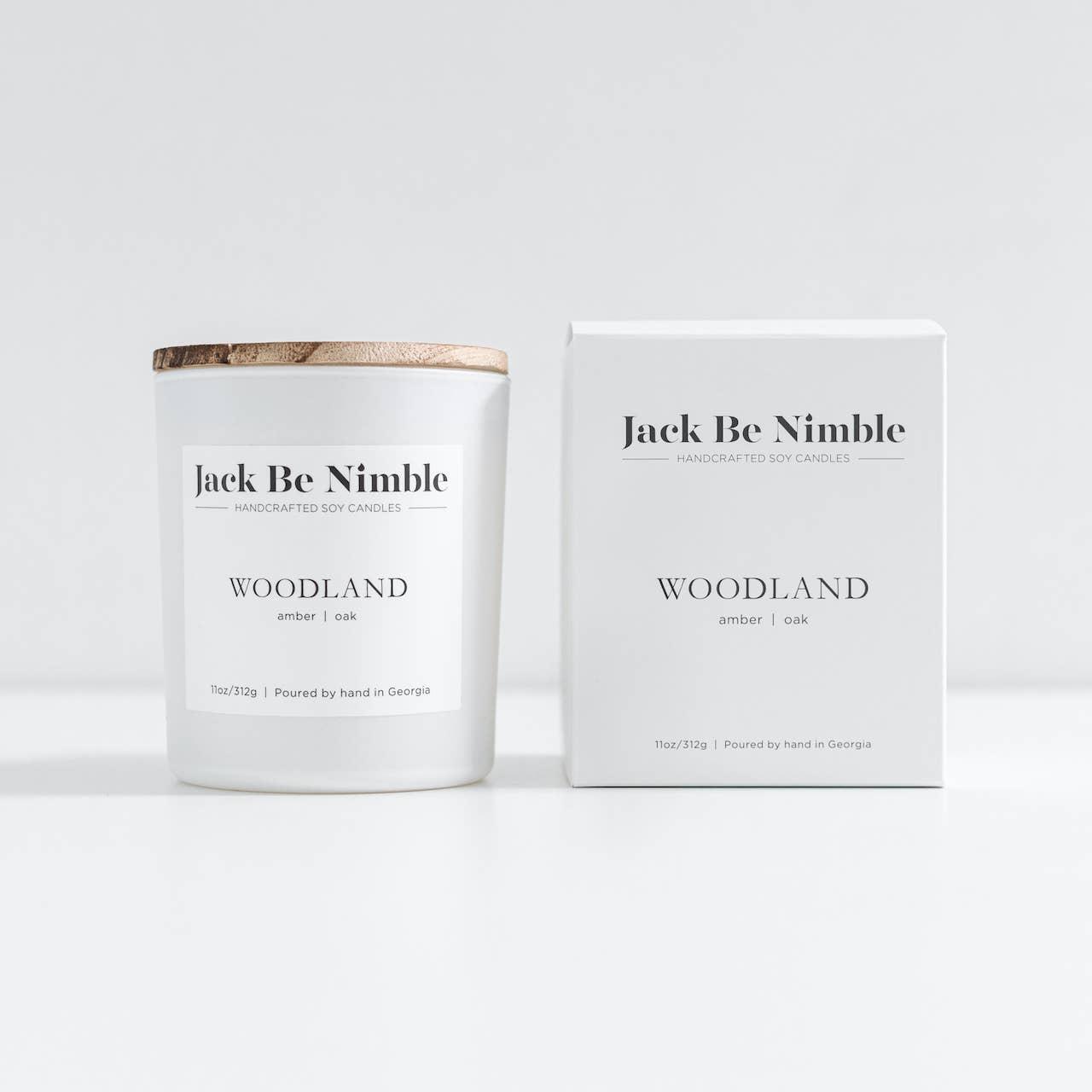 11oz Woodland Soy Candle | Trada Marketplace