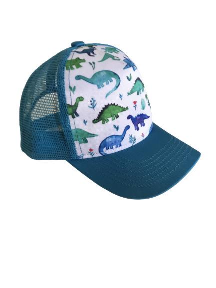 Blue Dinosaur Trucker Hat | Trada Marketplace