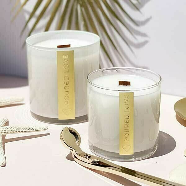 Poured Love Candles | Trada Marketplace