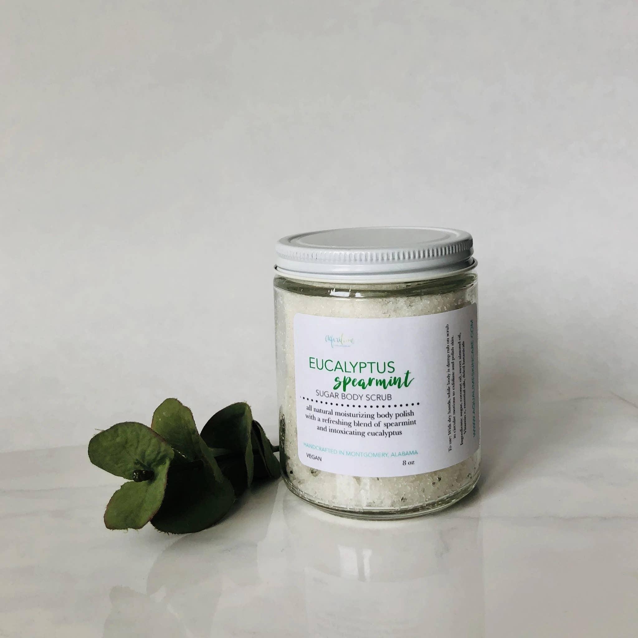 Eucalyptus Spearmint Sugar Body Scrub   Trada Marketplace