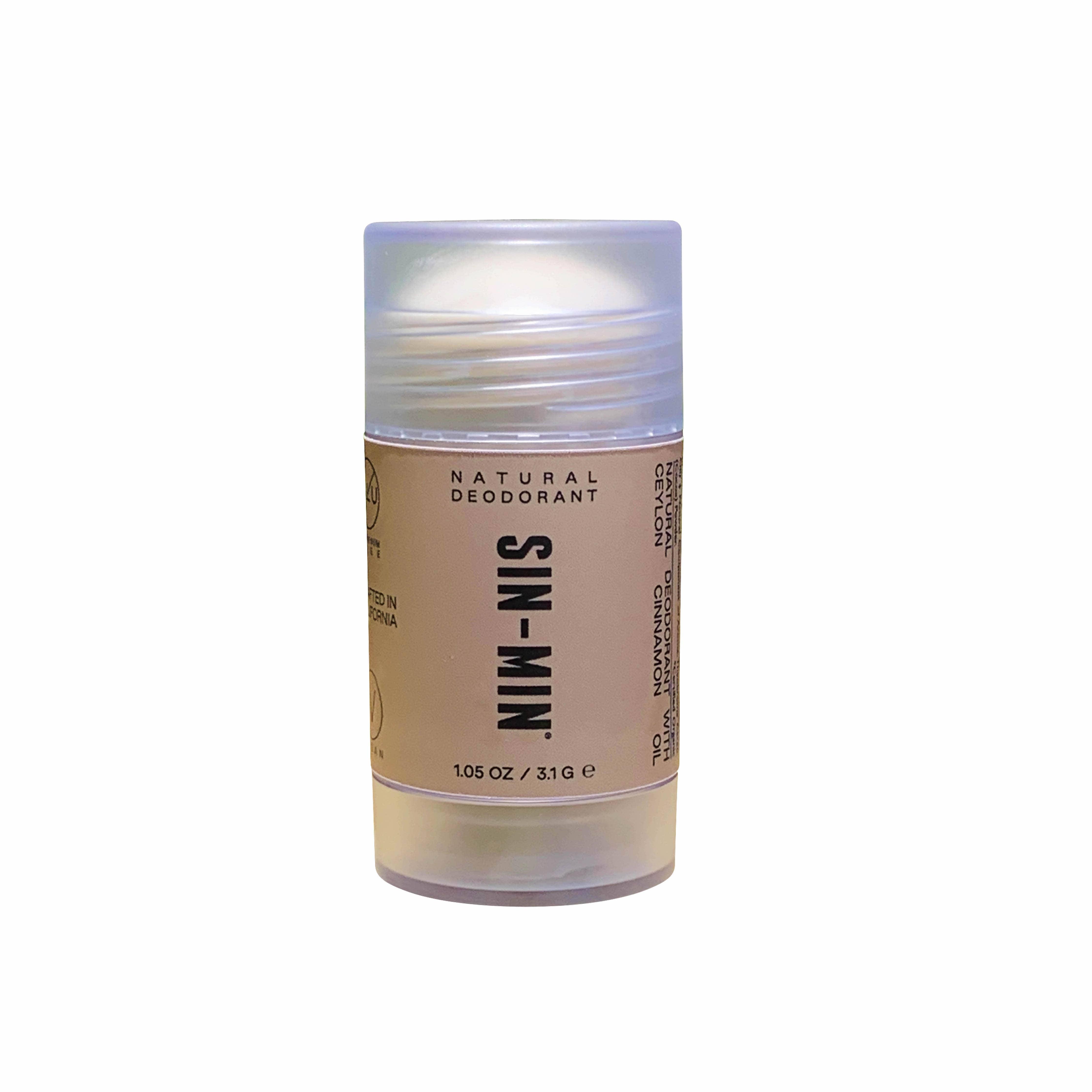 SIN-MIN Aluminum-Free Natural Deodorant   Trada Marketplace