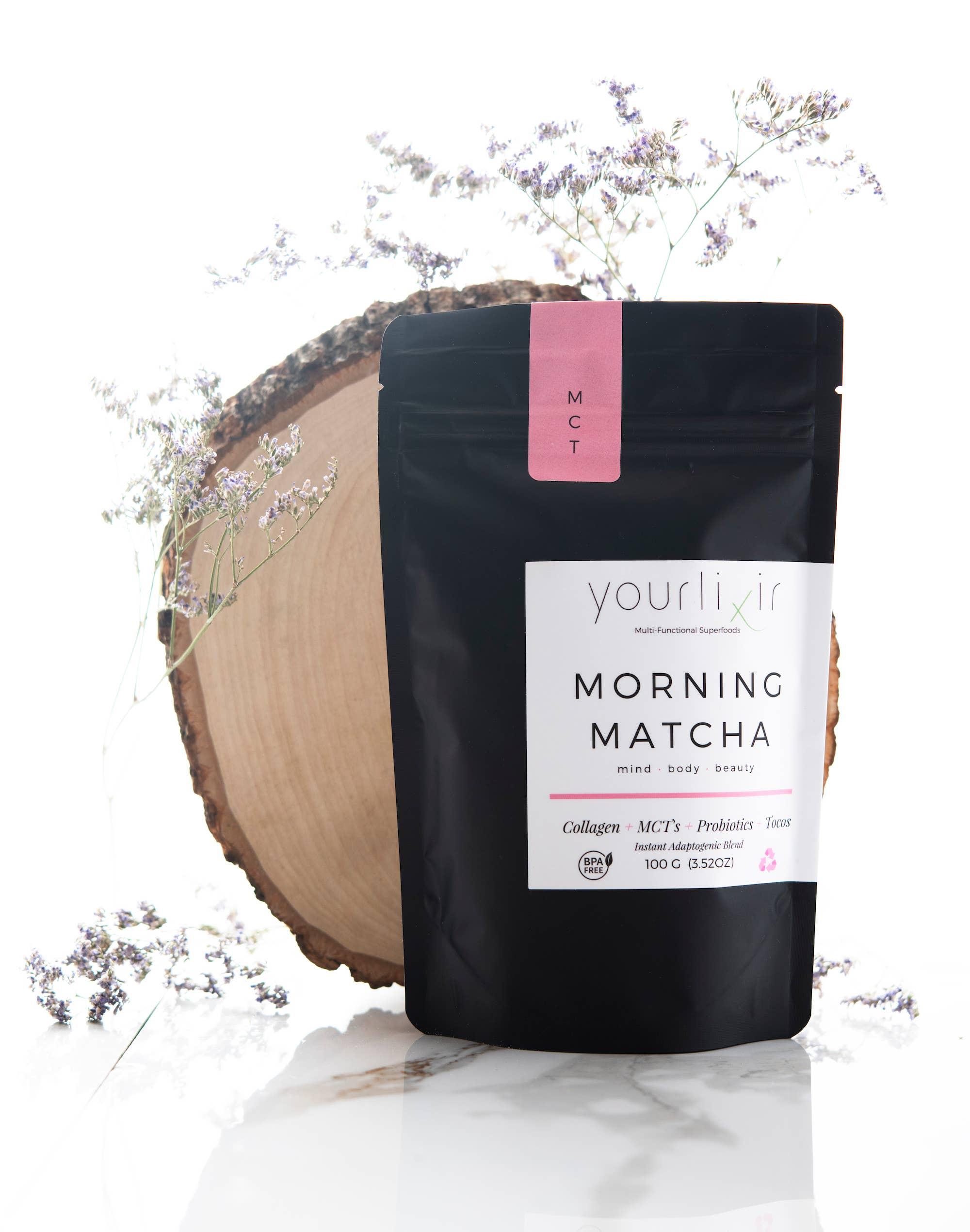 Collagen & Probiotic Matcha Latte Blend   Trada Marketplace