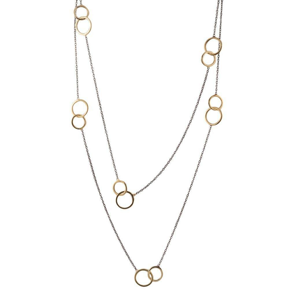 20% OFF Best Friends Rhodium & Vermeil Necklace   Trada Marketplace