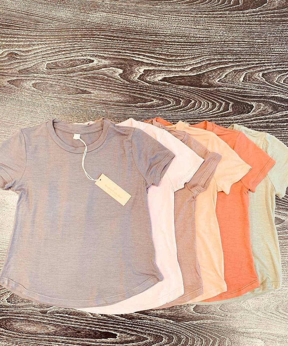 BAMBOO KIDS CLASSIC TOP (Size Prepack: 1–1–1–1;XS/3-4–S/5-6–M/7-8–L/9-10)   Trada Marketplace