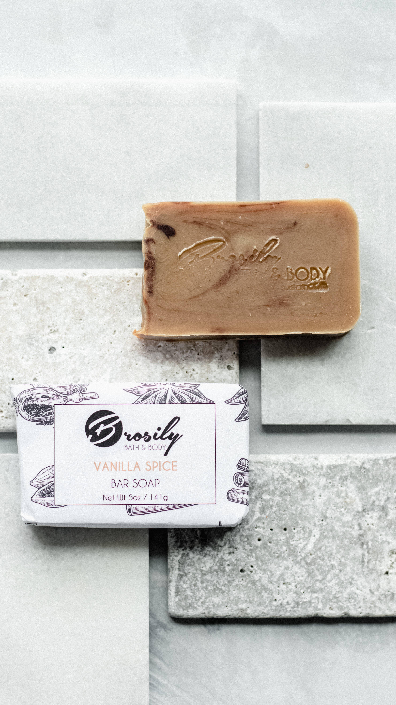 Vegan Bar Soap - Vanilla Spice  - Comforting   Trada Marketplace