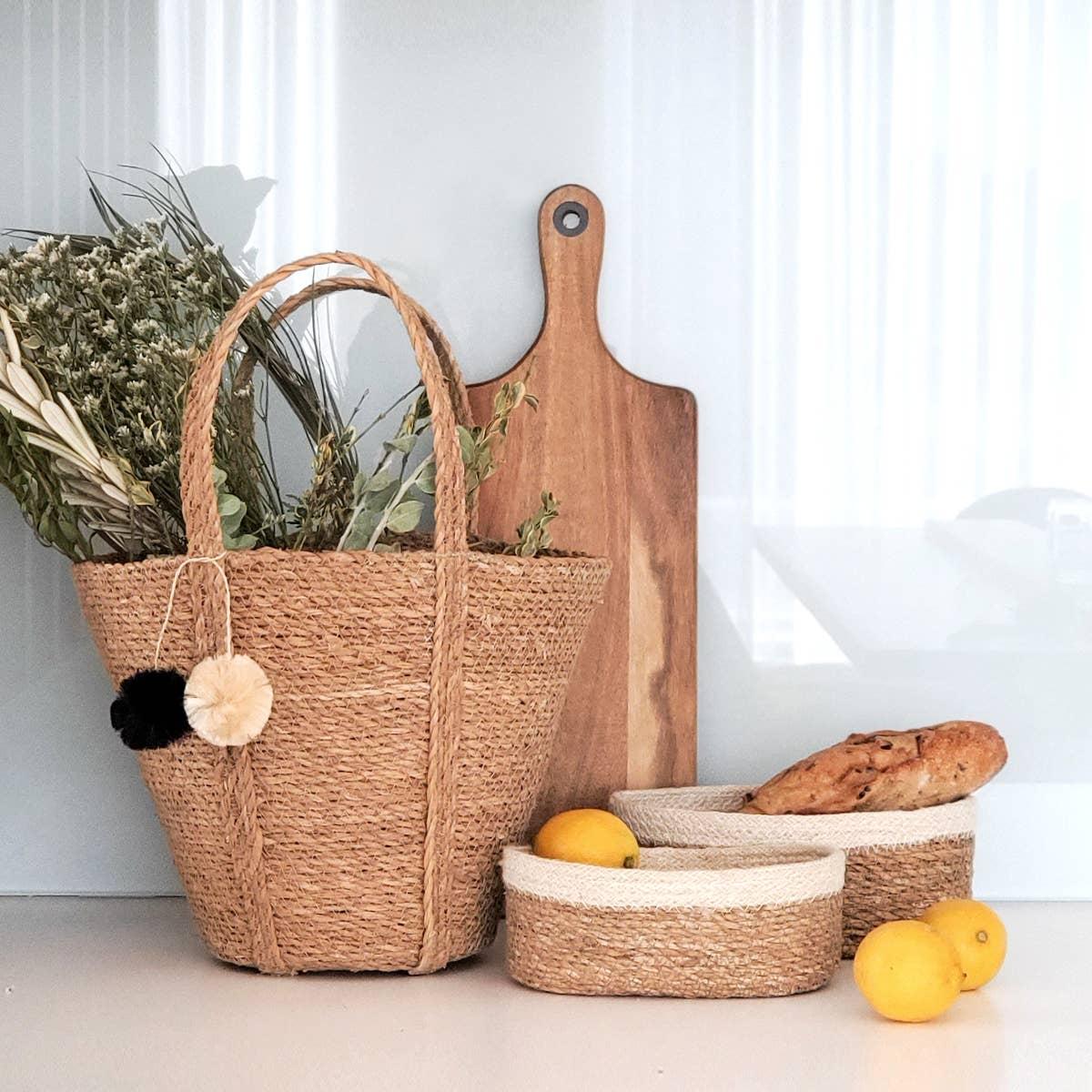 Savar Basket Tote   Trada Marketplace