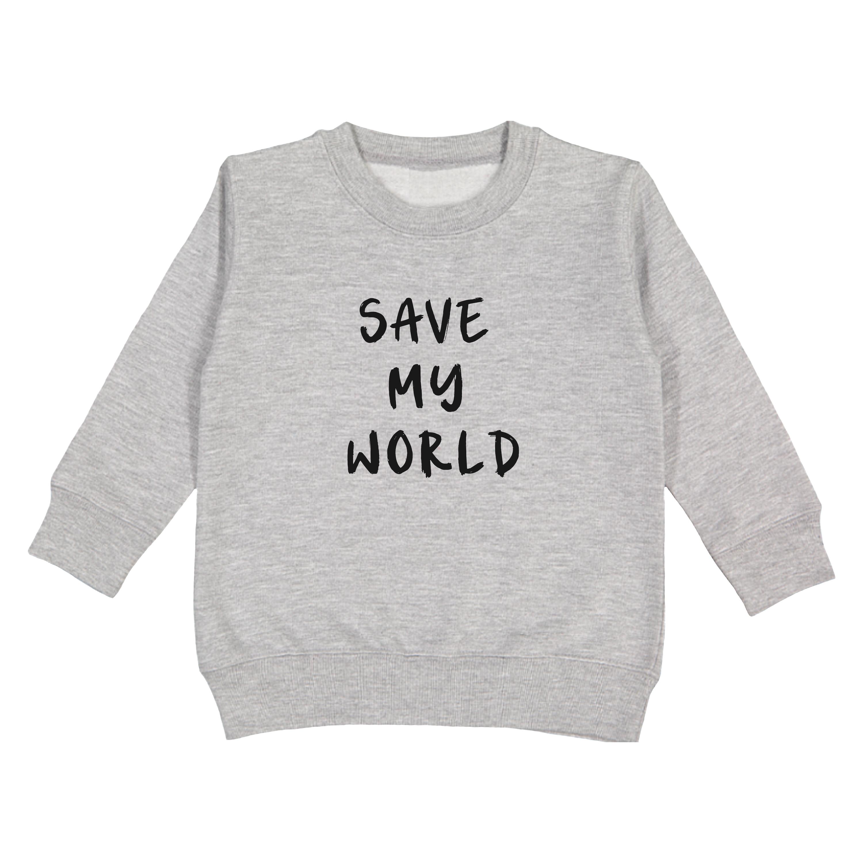 Save My World Pullover | Trada Marketplace
