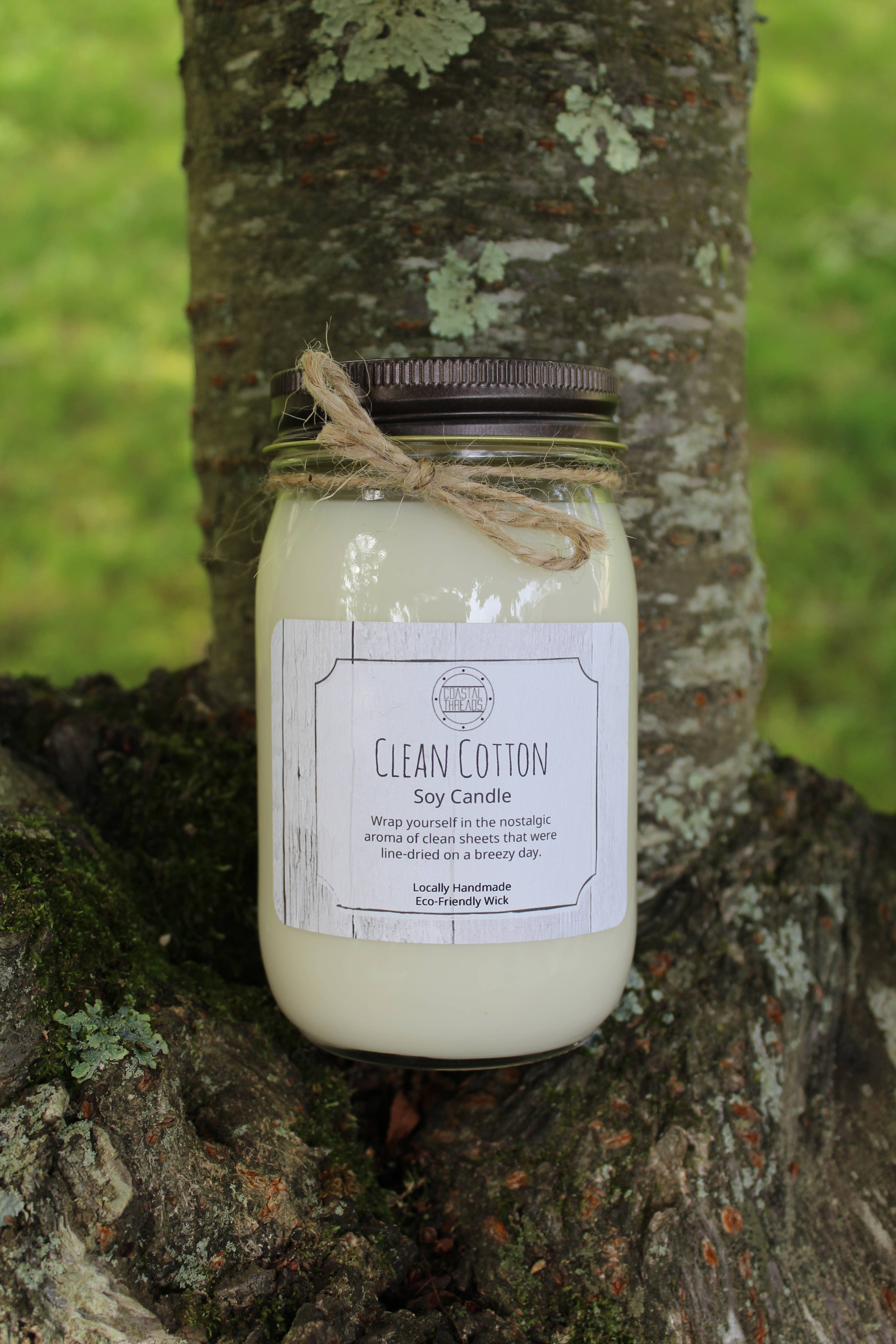 Clean Cotton Soy Candle | Trada Marketplace