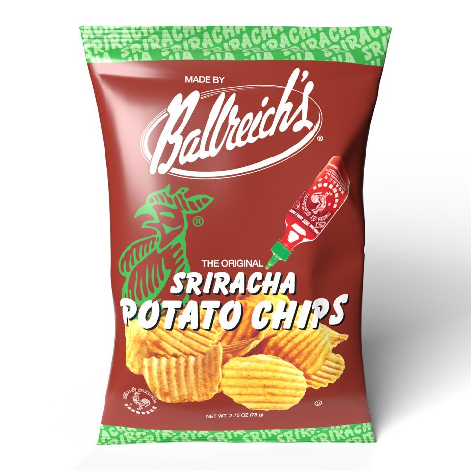 Sriracha Potato Chips- 9 oz Bag   Trada Marketplace