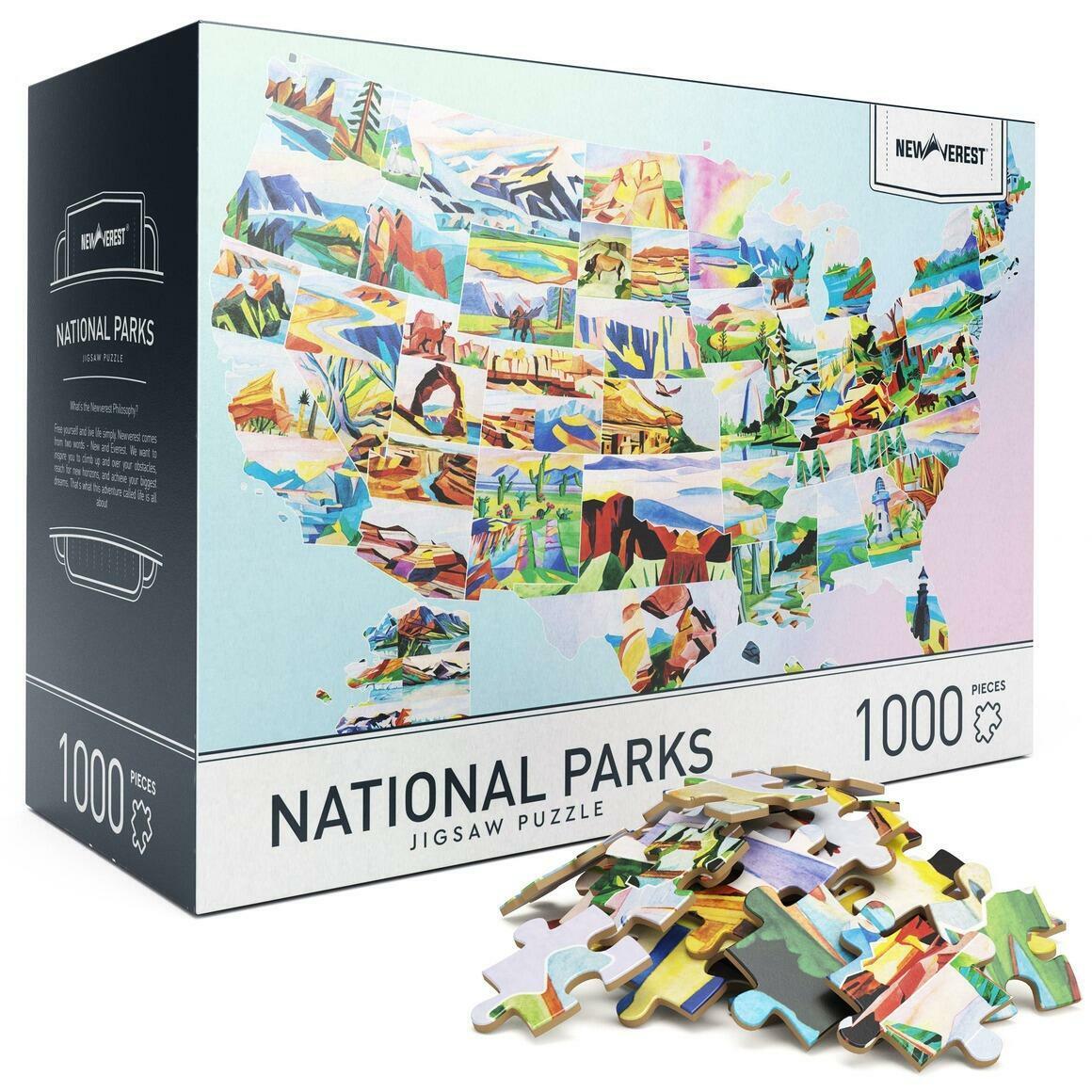 1000 pcs Newverest National Parks Jigsaw Puzzles | Trada Marketplace