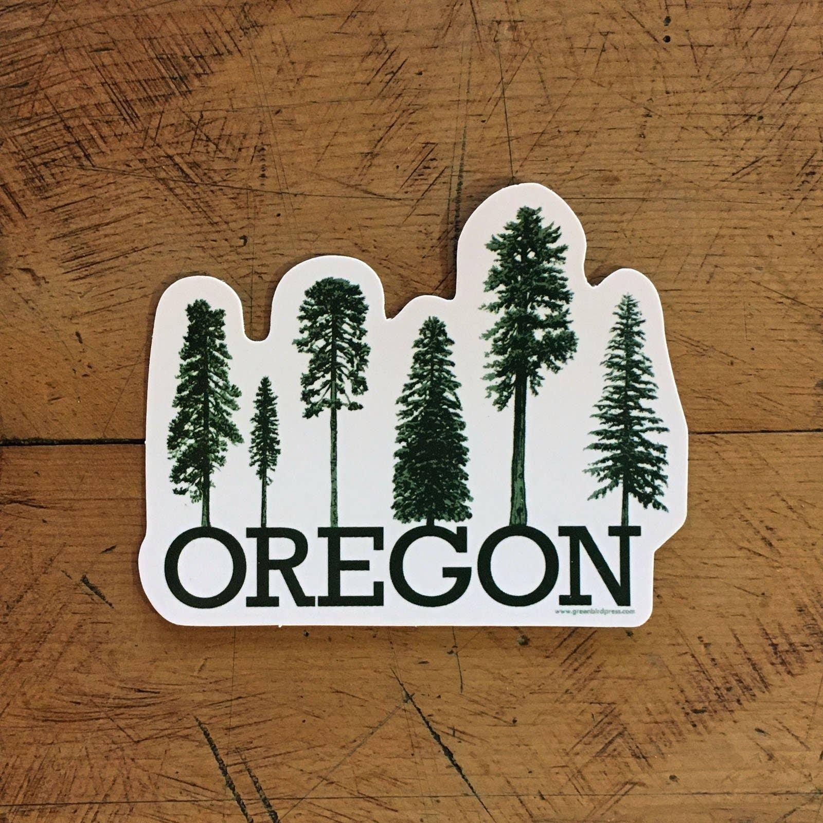 Oregon Conifer Tree Sticker | Trada Marketplace