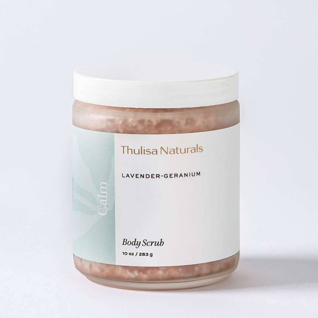 Body Scrub  Calming Lavender-Geranium   Trada Marketplace