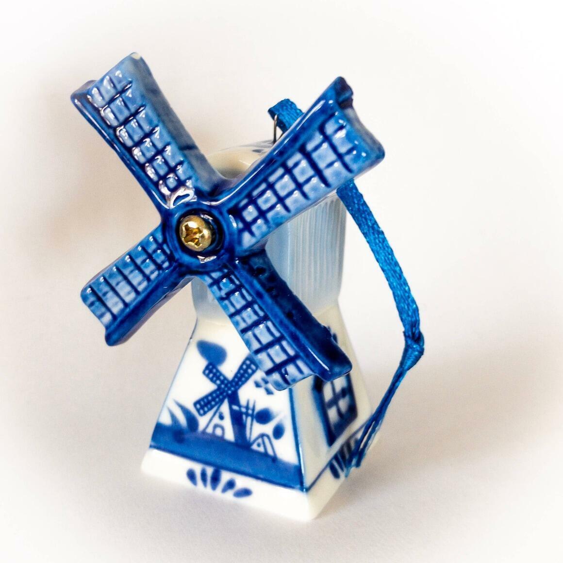 Dutch Windmill Ornament on Ribbon   Trada Marketplace