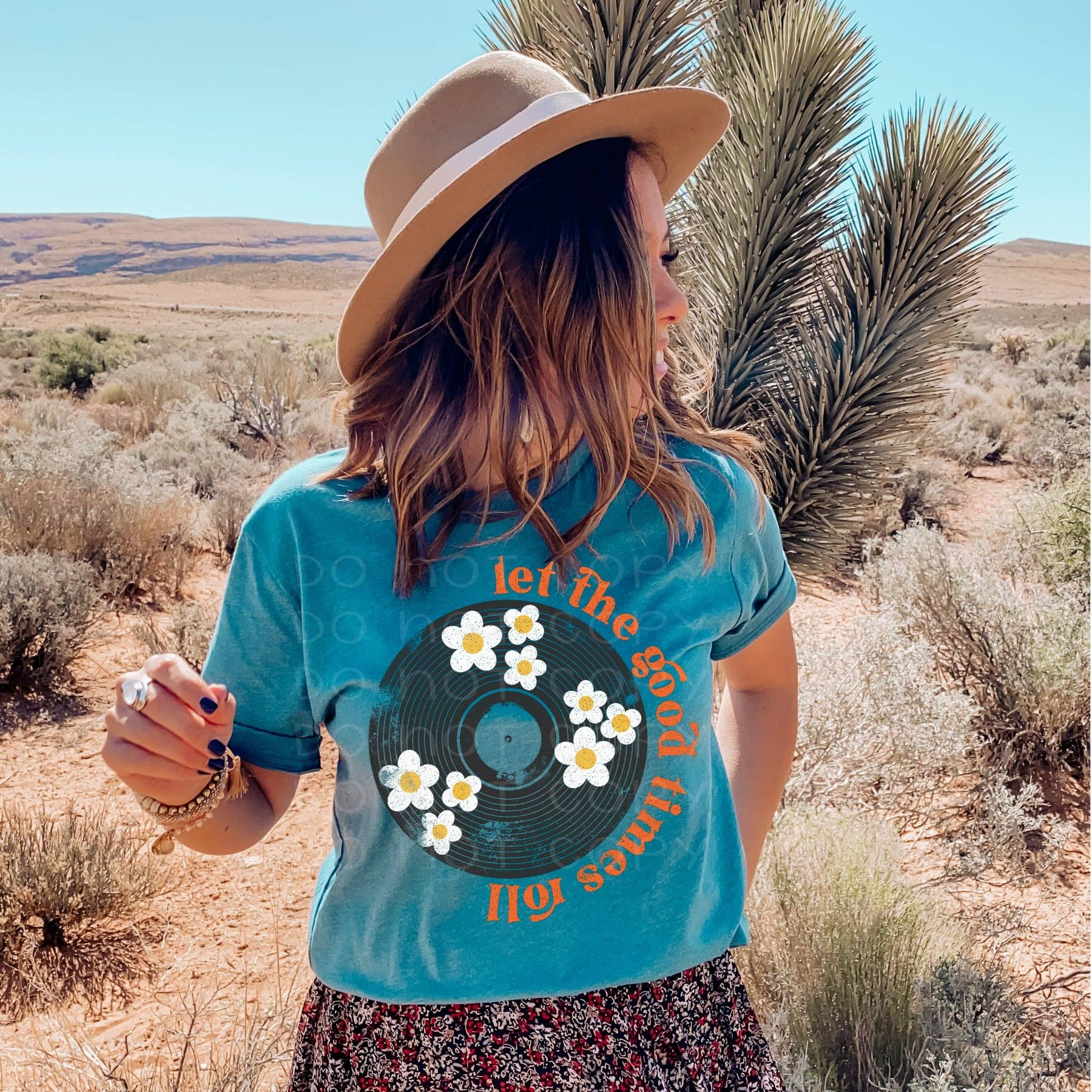 LET THE GOOD TIME ROLL GRAPHIC TEE   Trada Marketplace