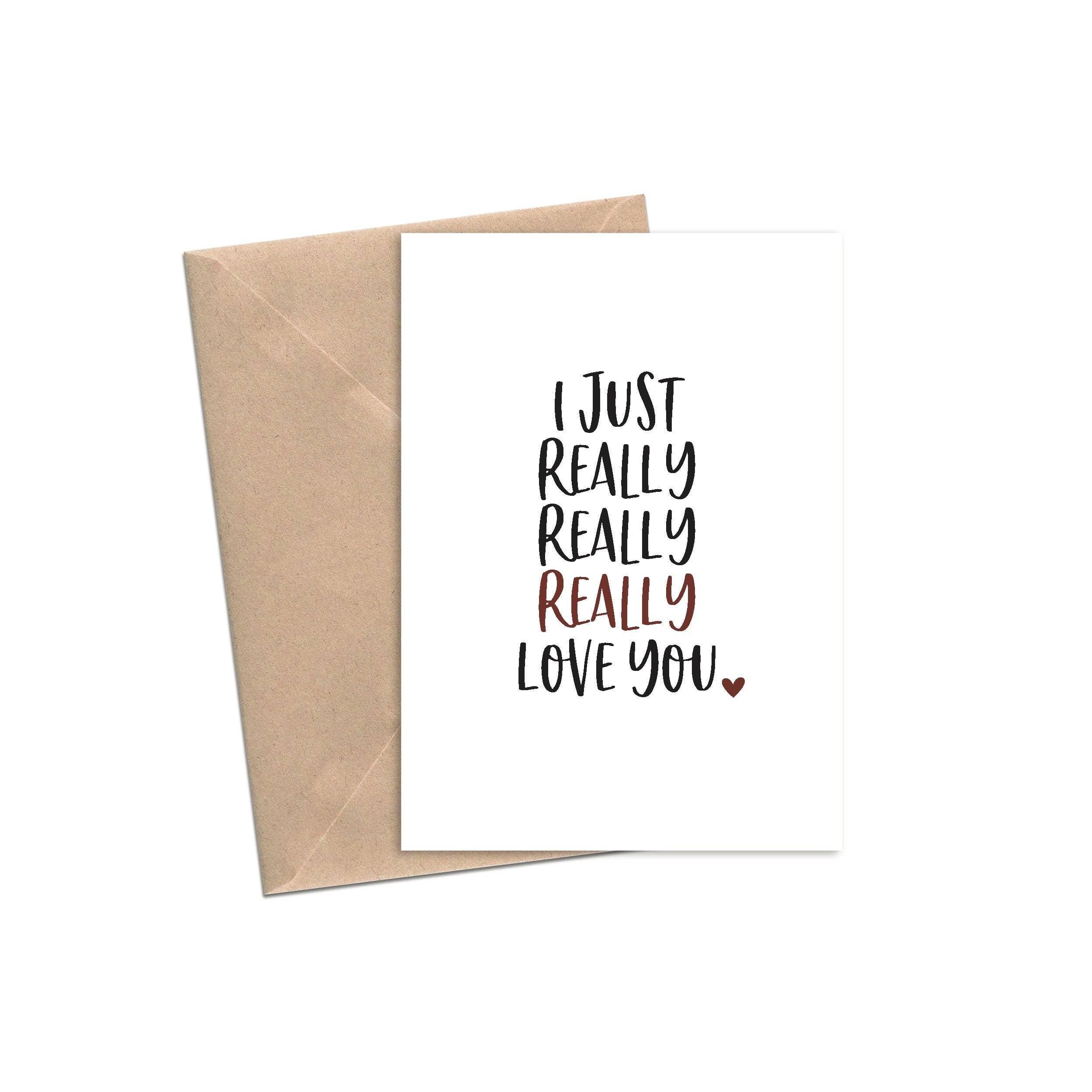I Just Really Really Really Love You | A2 | Trada Marketplace