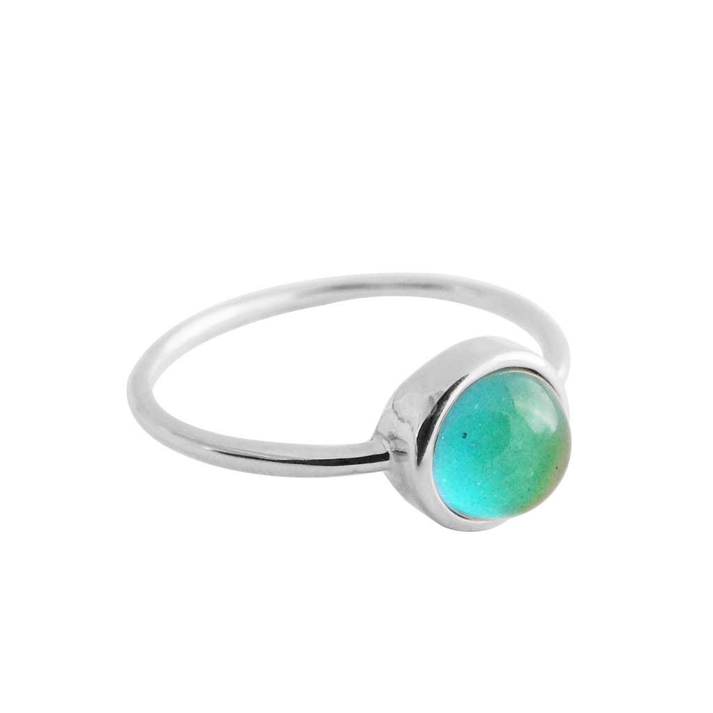 Silver - Mini Mood Ring   Trada Marketplace
