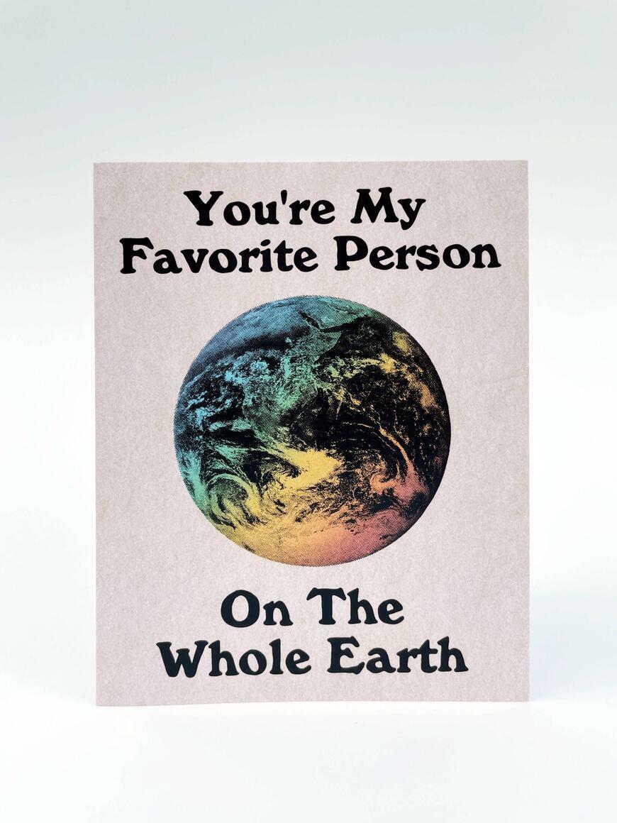 Whole Earth   Greeting Card   Trada Marketplace
