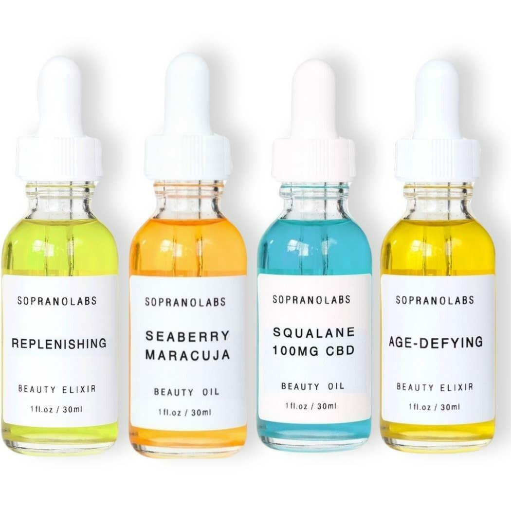 Face Oil Elixir Sample Pack. 4 Testers.    Trada Marketplace