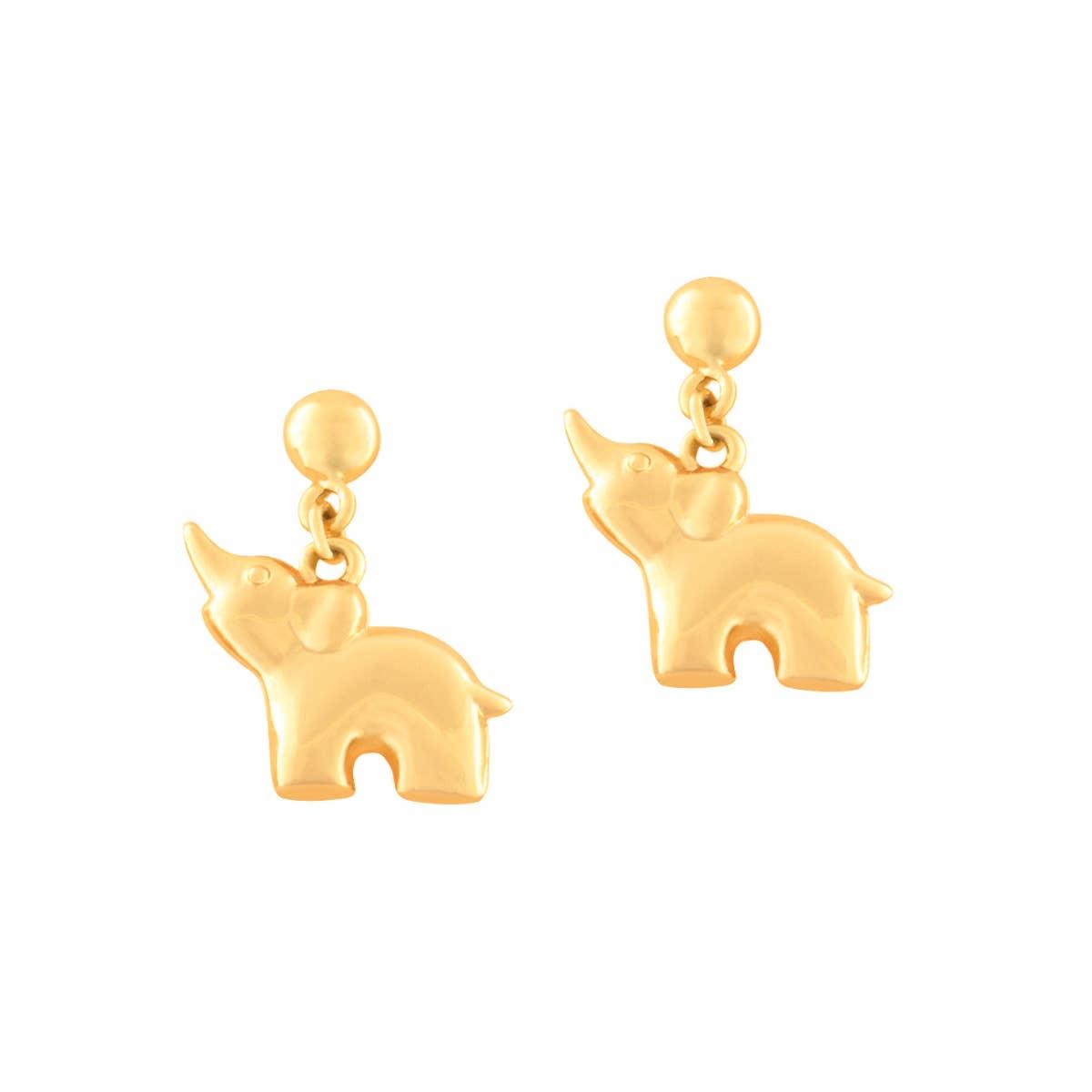 Little Treasures- Elephant Earrings   Trada Marketplace