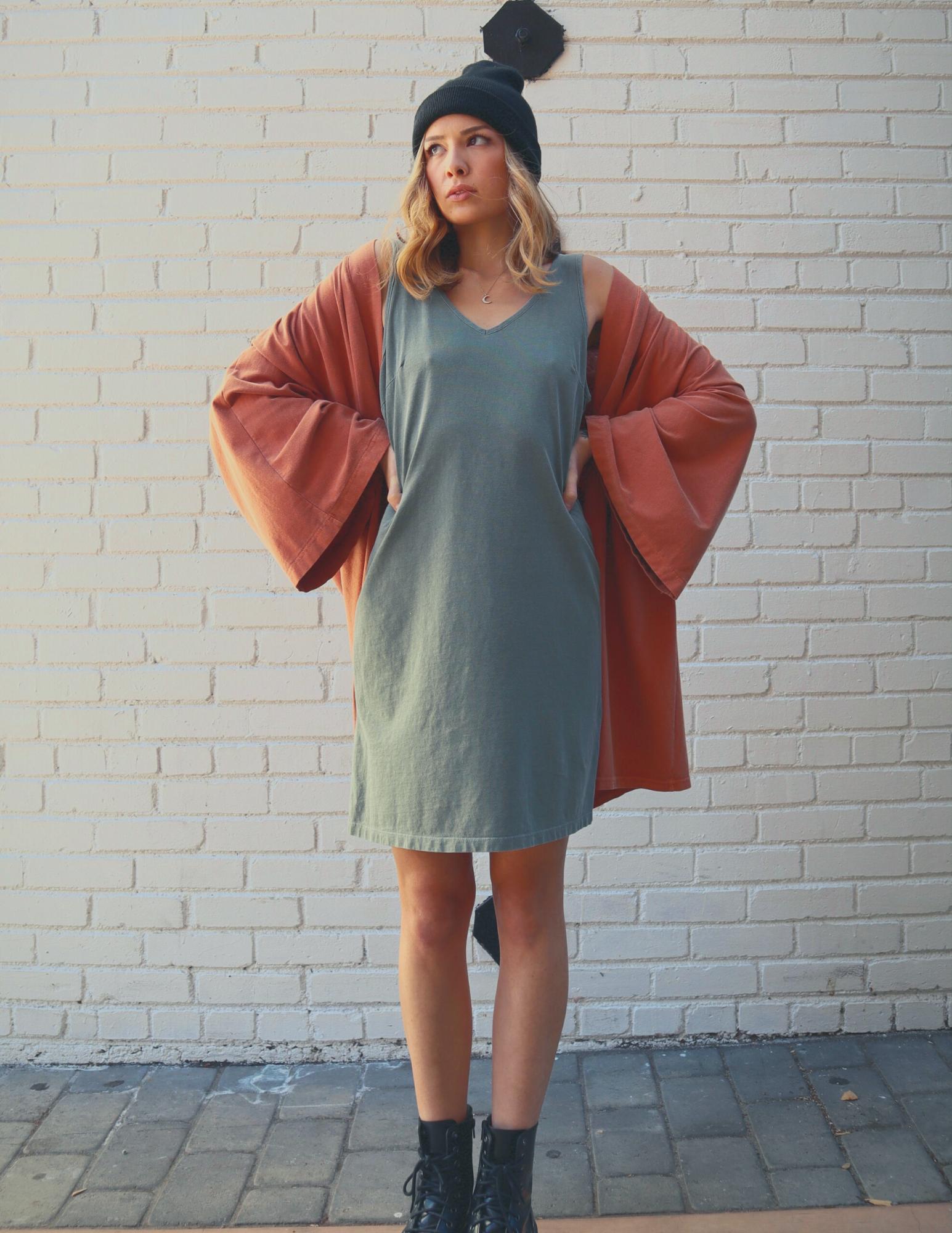 The Audrey Dress - Olive | Trada Marketplace