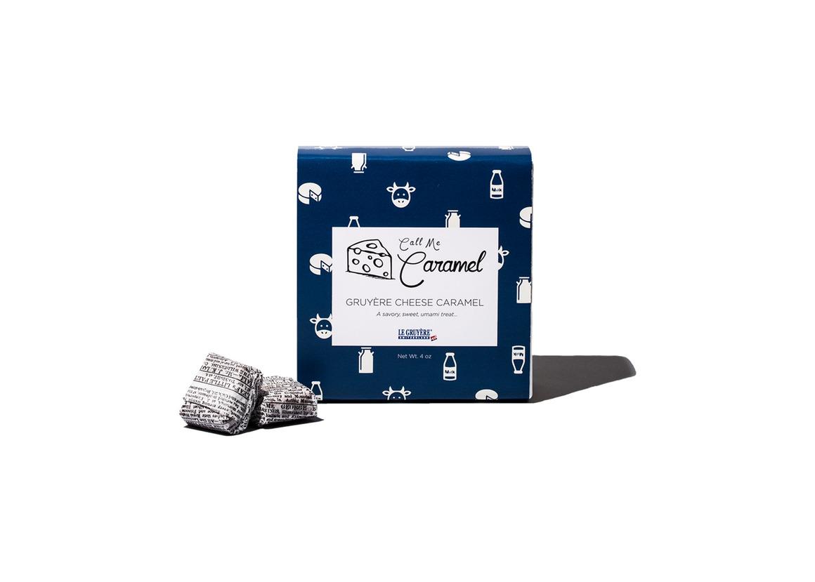 Gruyère AOP Caramel 4oz Box | Trada Marketplace