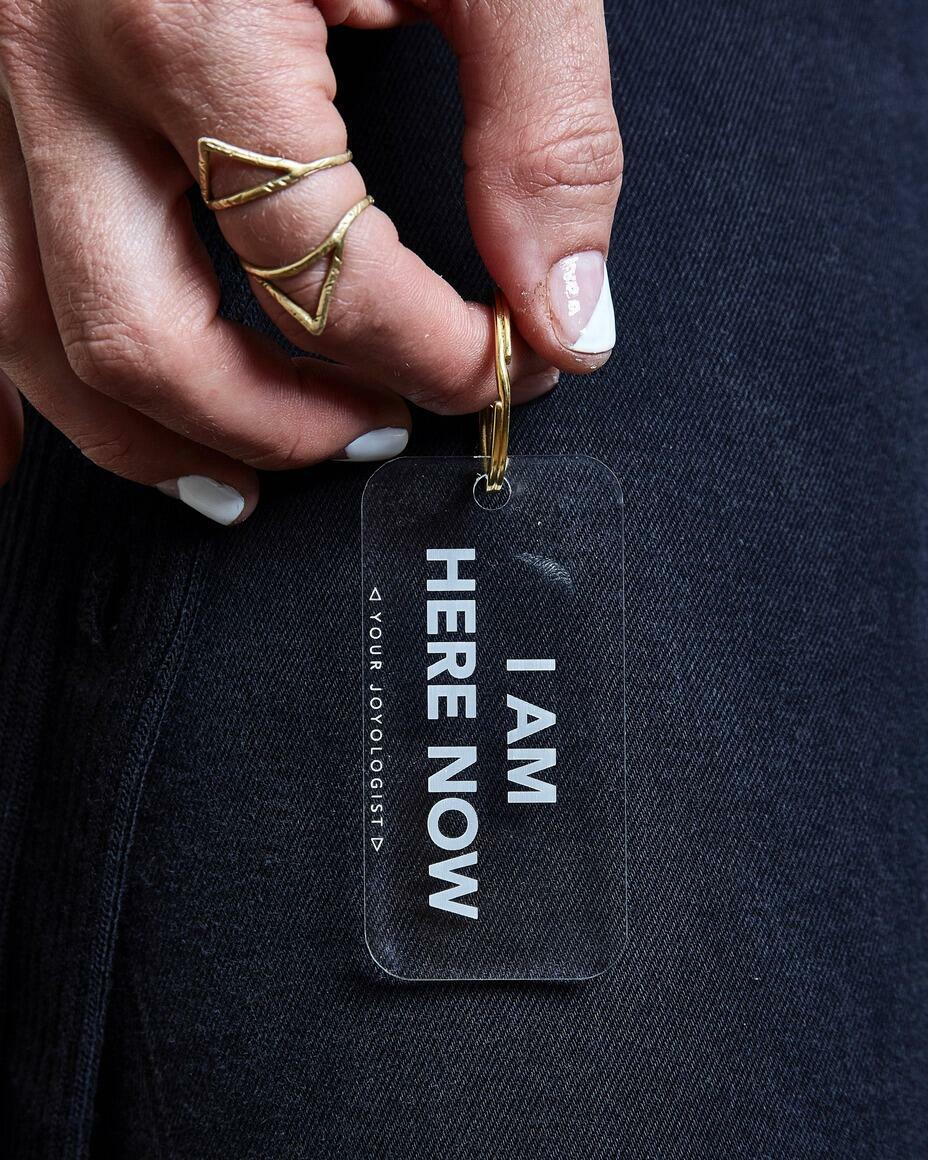 I am here now. - keychain   Trada Marketplace