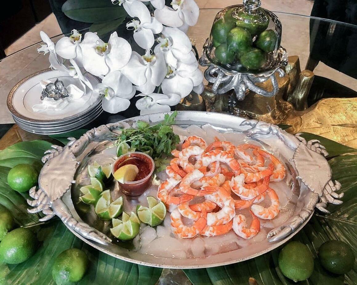 Crab Oval Platter | Trada Marketplace